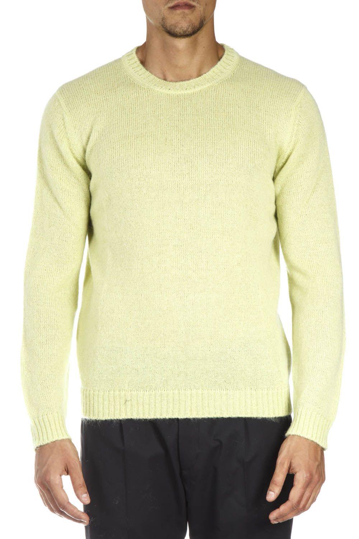 Low Brand Yellow Wool Sweatshirt