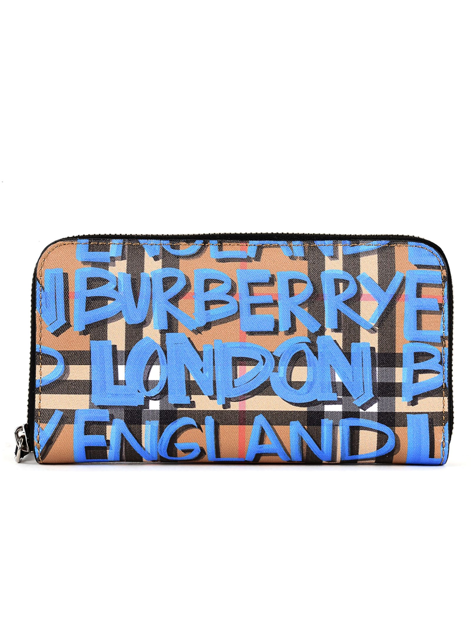 Burberry Leather Printed Wallet