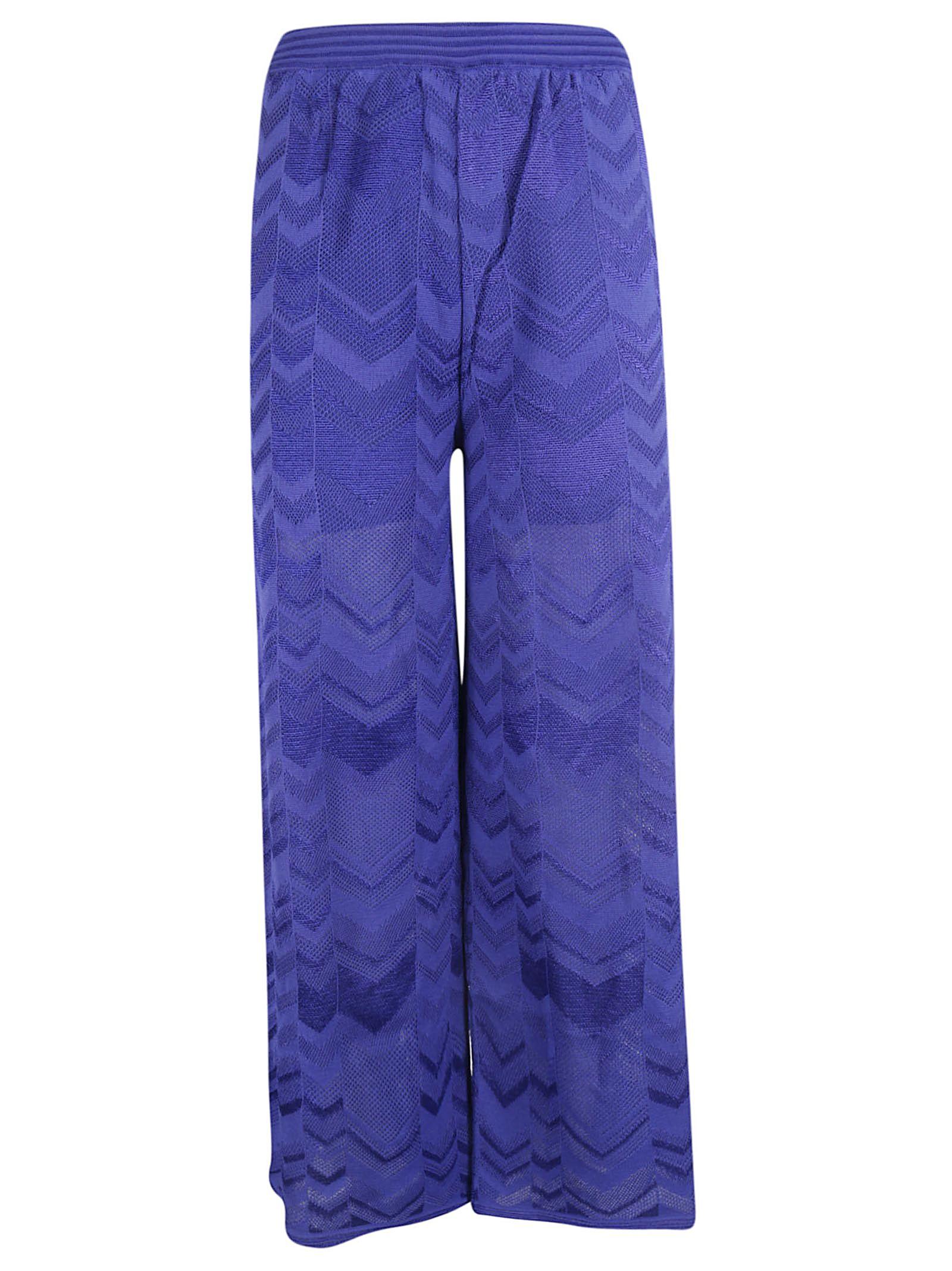 M Missoni Chevron Trousers