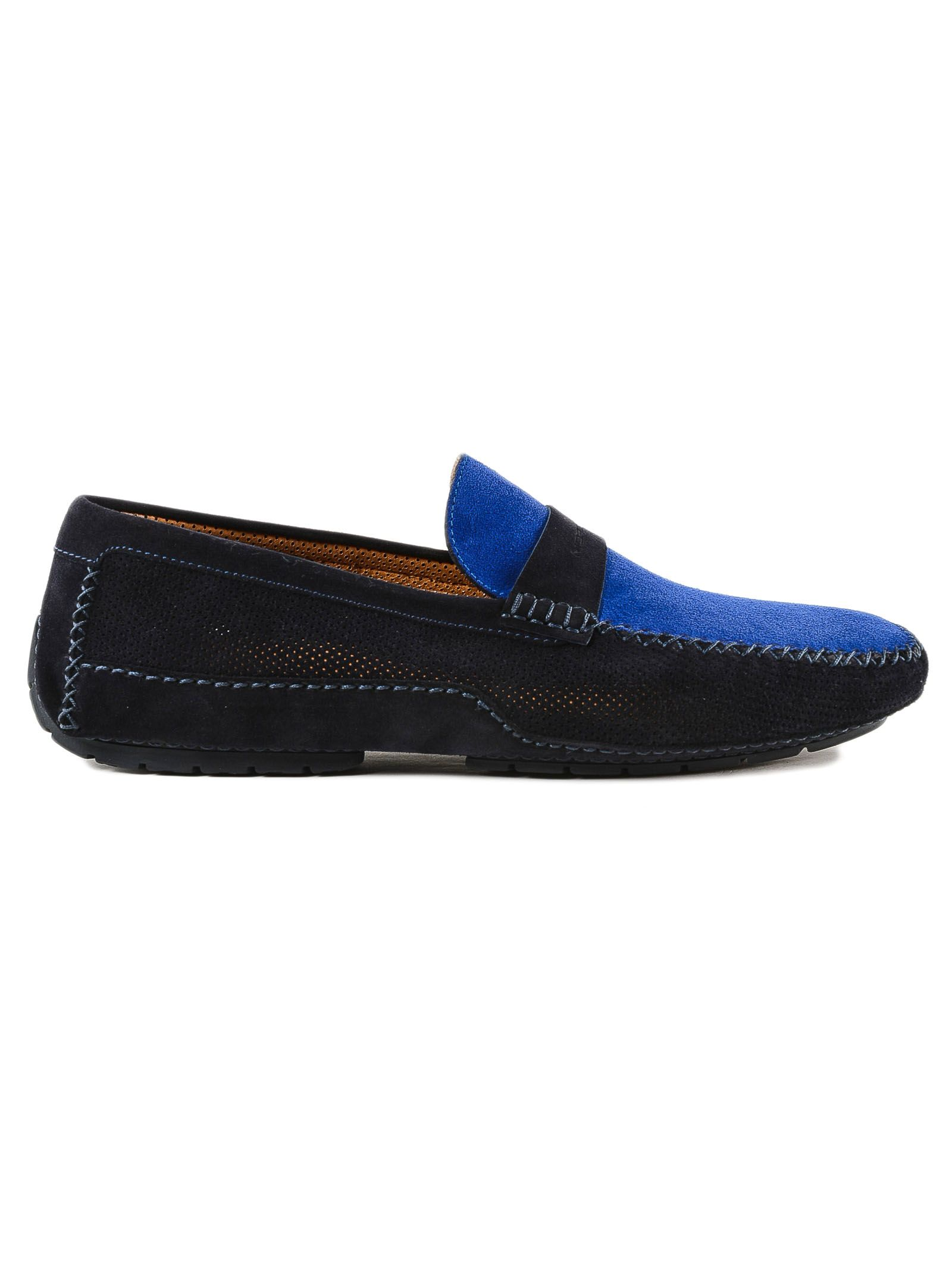 Moreschi Perforated Loafers