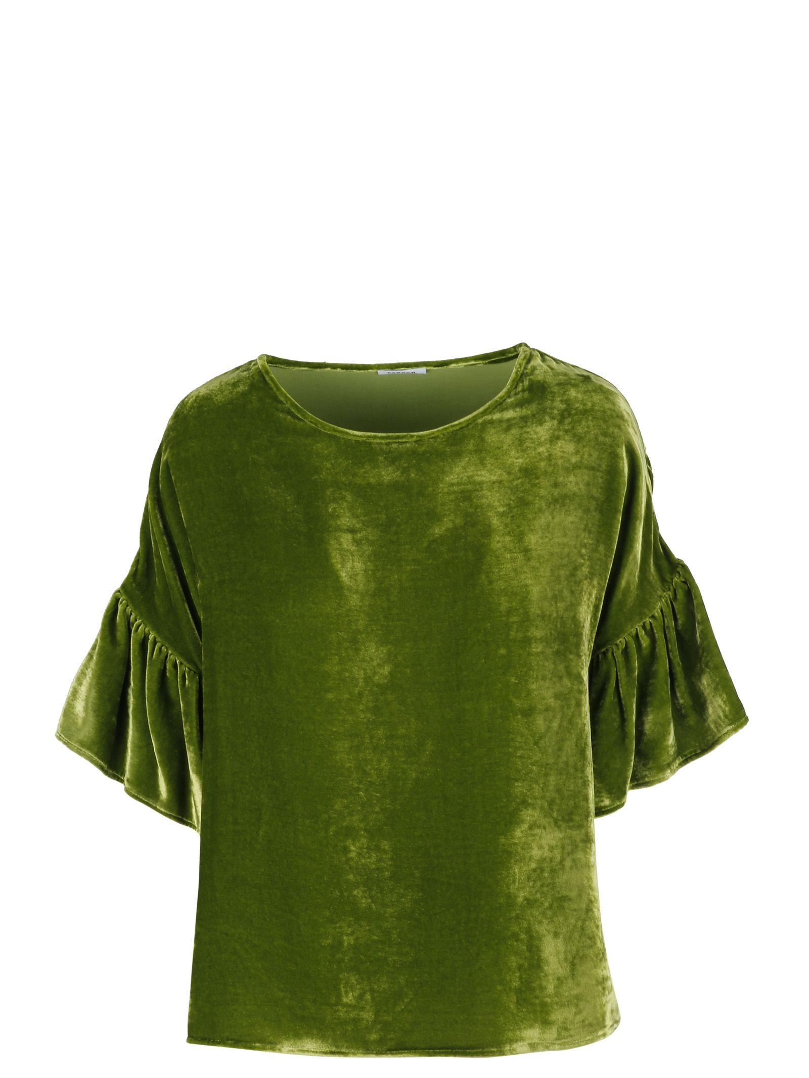Parosh Ruffled T-shirt