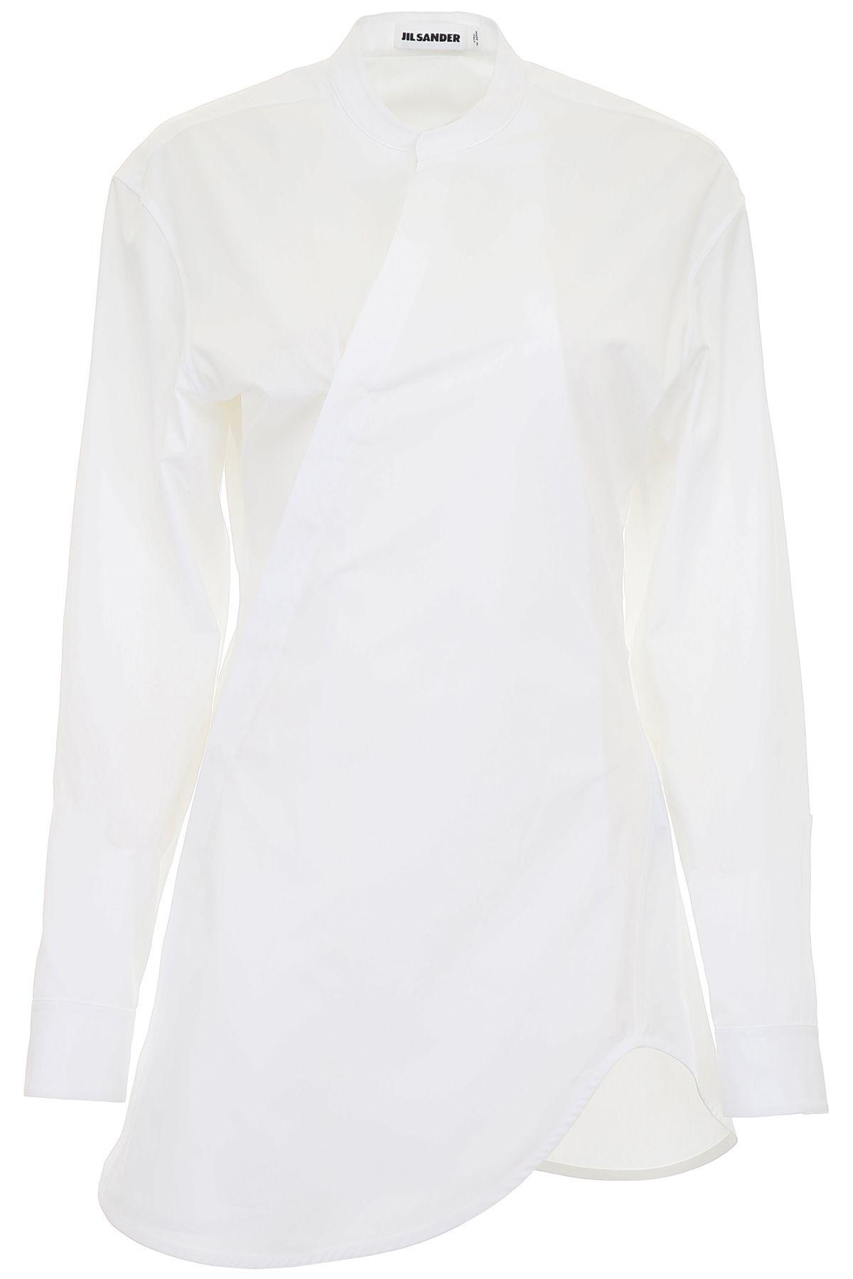 Jil Sander Shirt With Side Button Closure