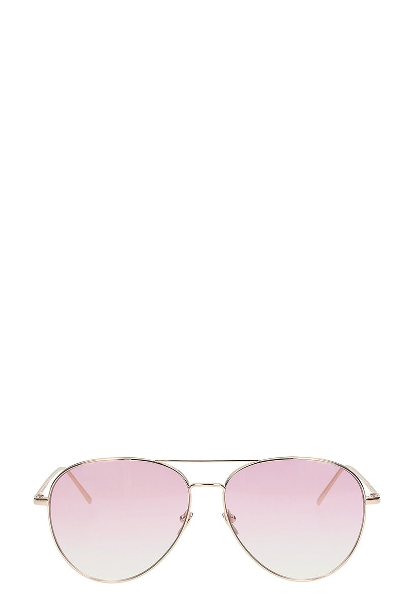 Linda Farrow Aviator By Matthew Williamson Sunglasses