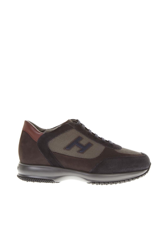 Hogan Hogan Interactive Brown Sneakers