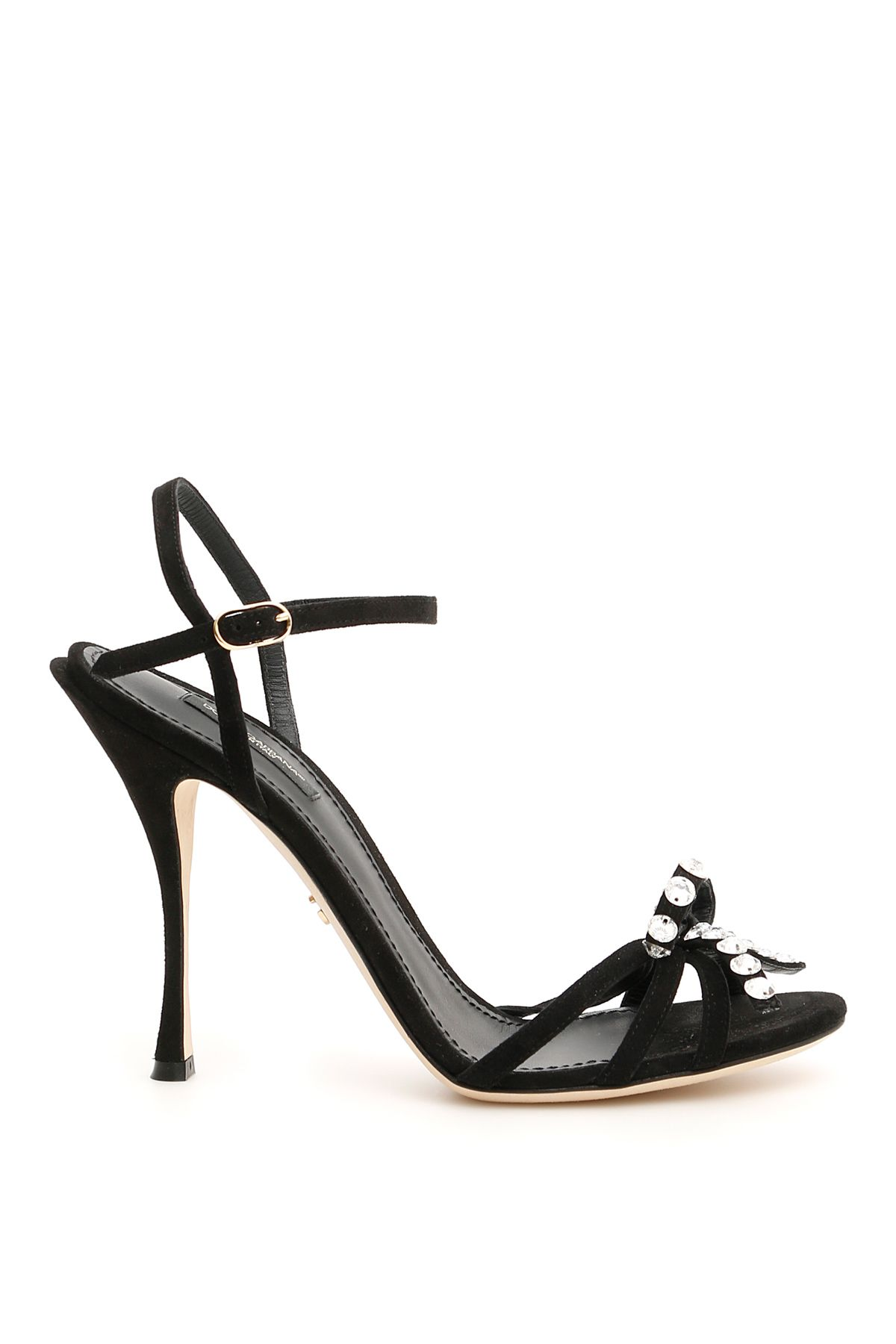 Dolce & Gabbana Keira Sandals With Crystals