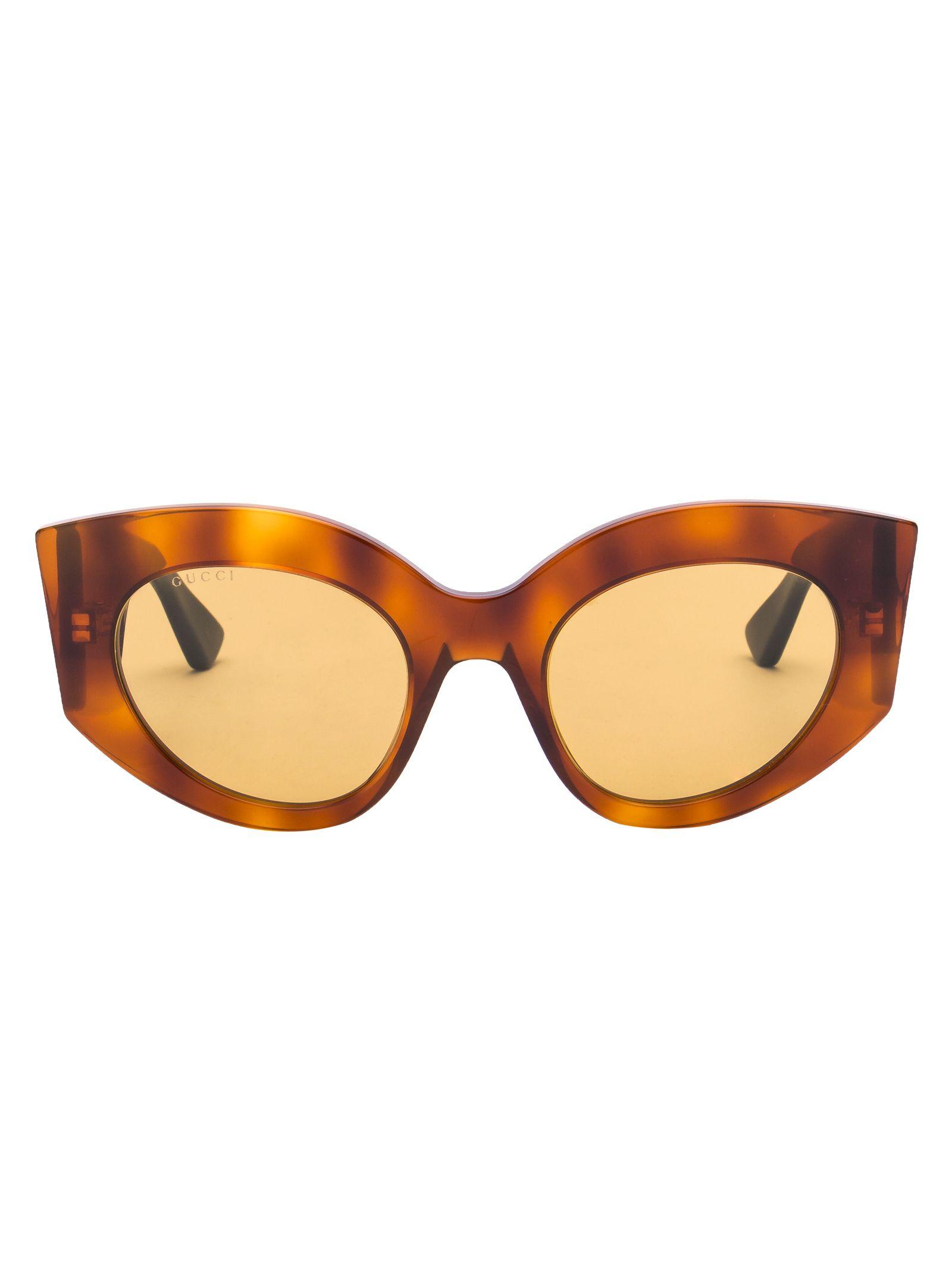 Gucci Eyewear Oversized Cat Eye Sunglasses