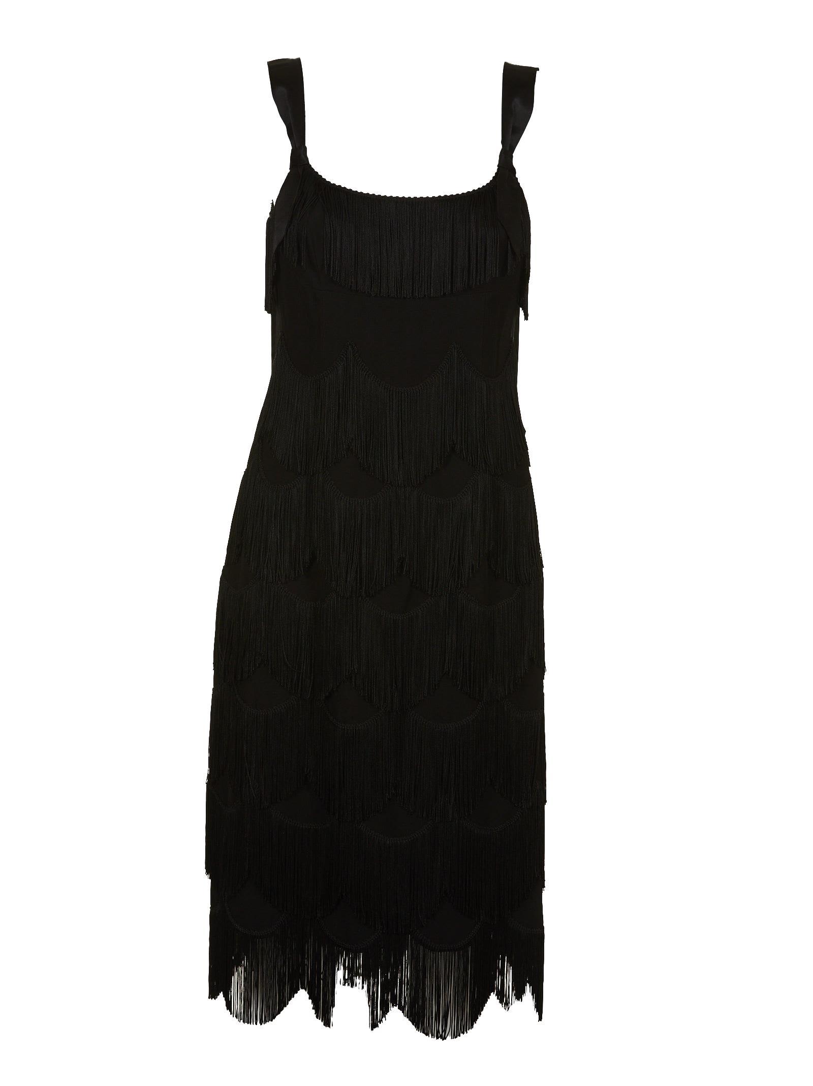 Marc Jacobs Fringe Detail Dress