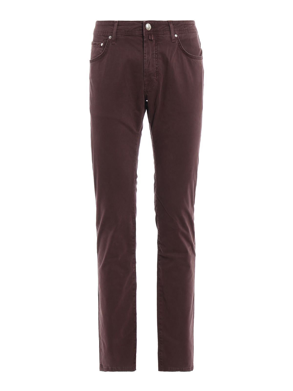Jacob Cohen Pw622 Comf Purple Denim Tailored Jeans