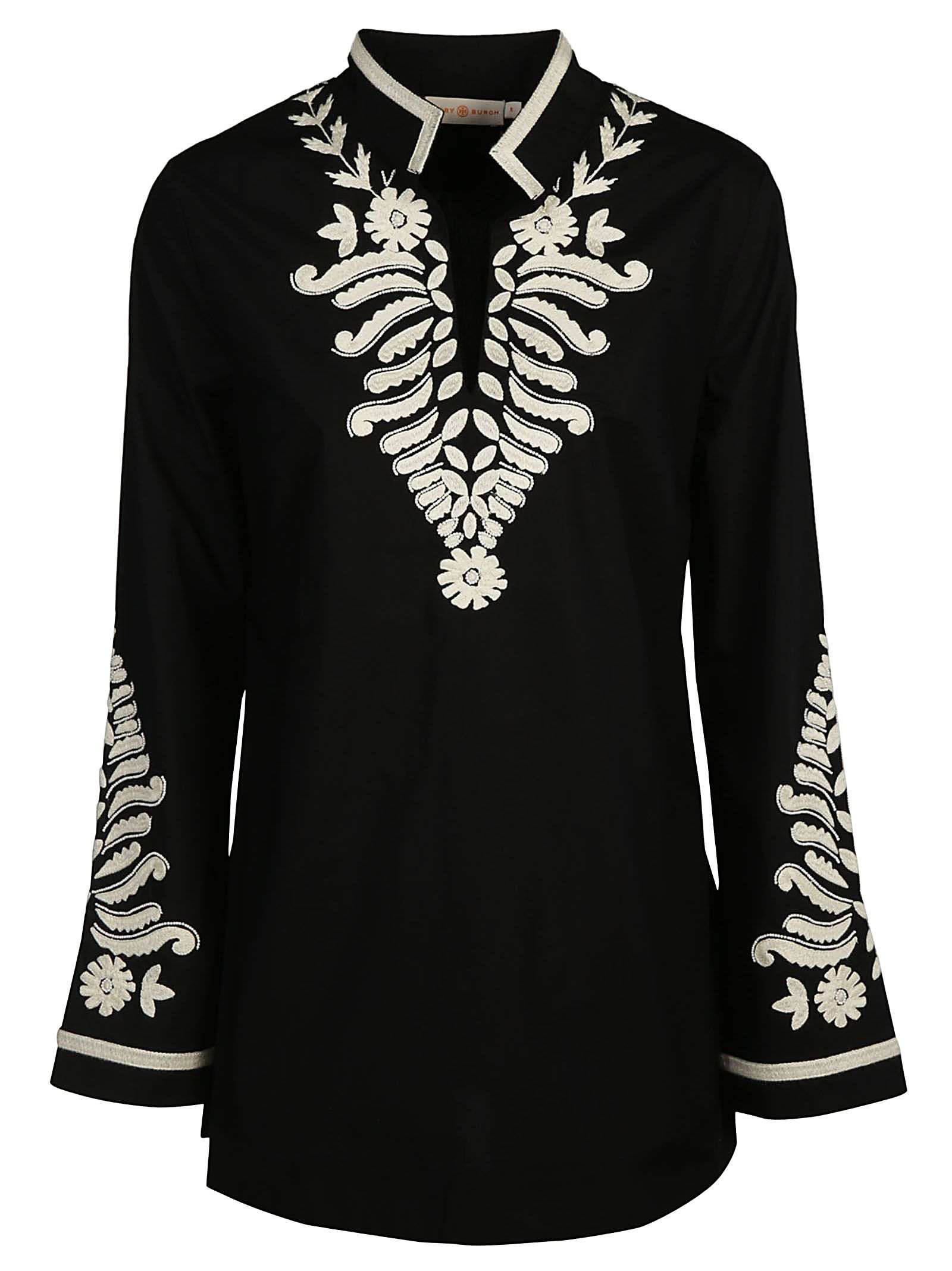 Tory Burch Embellished Tory Tunic Top