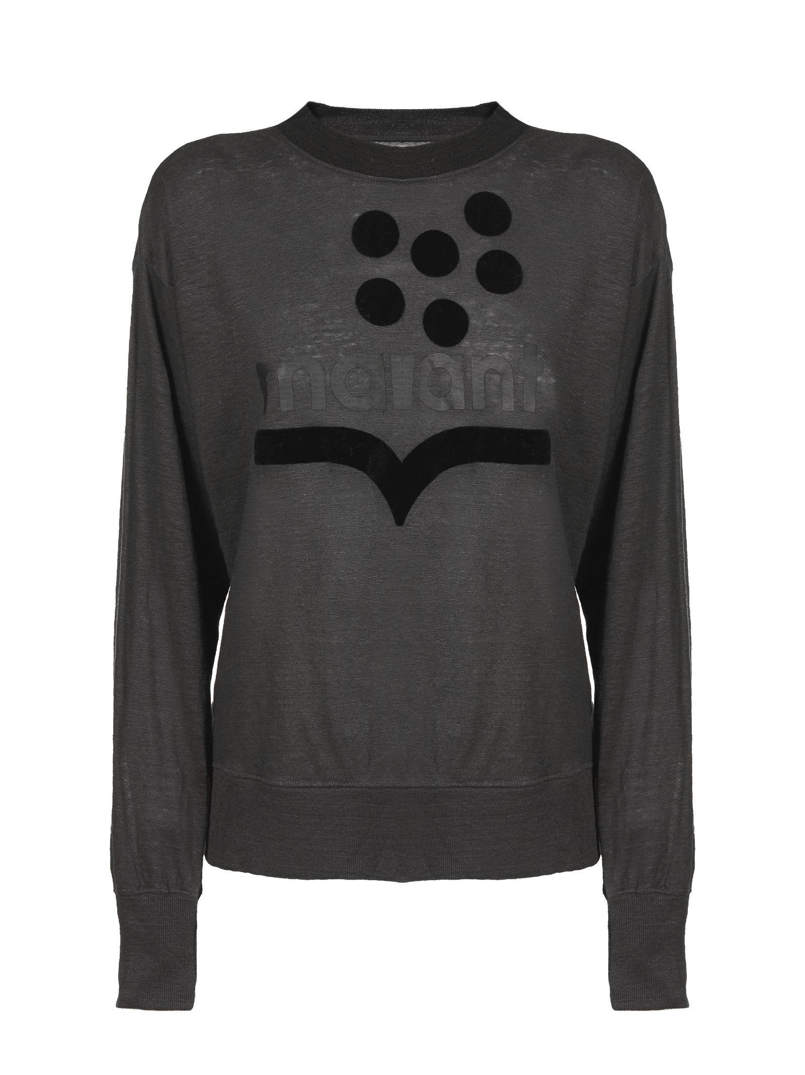 Isabel Marant étoile Logo Crewneck Sweatshirt
