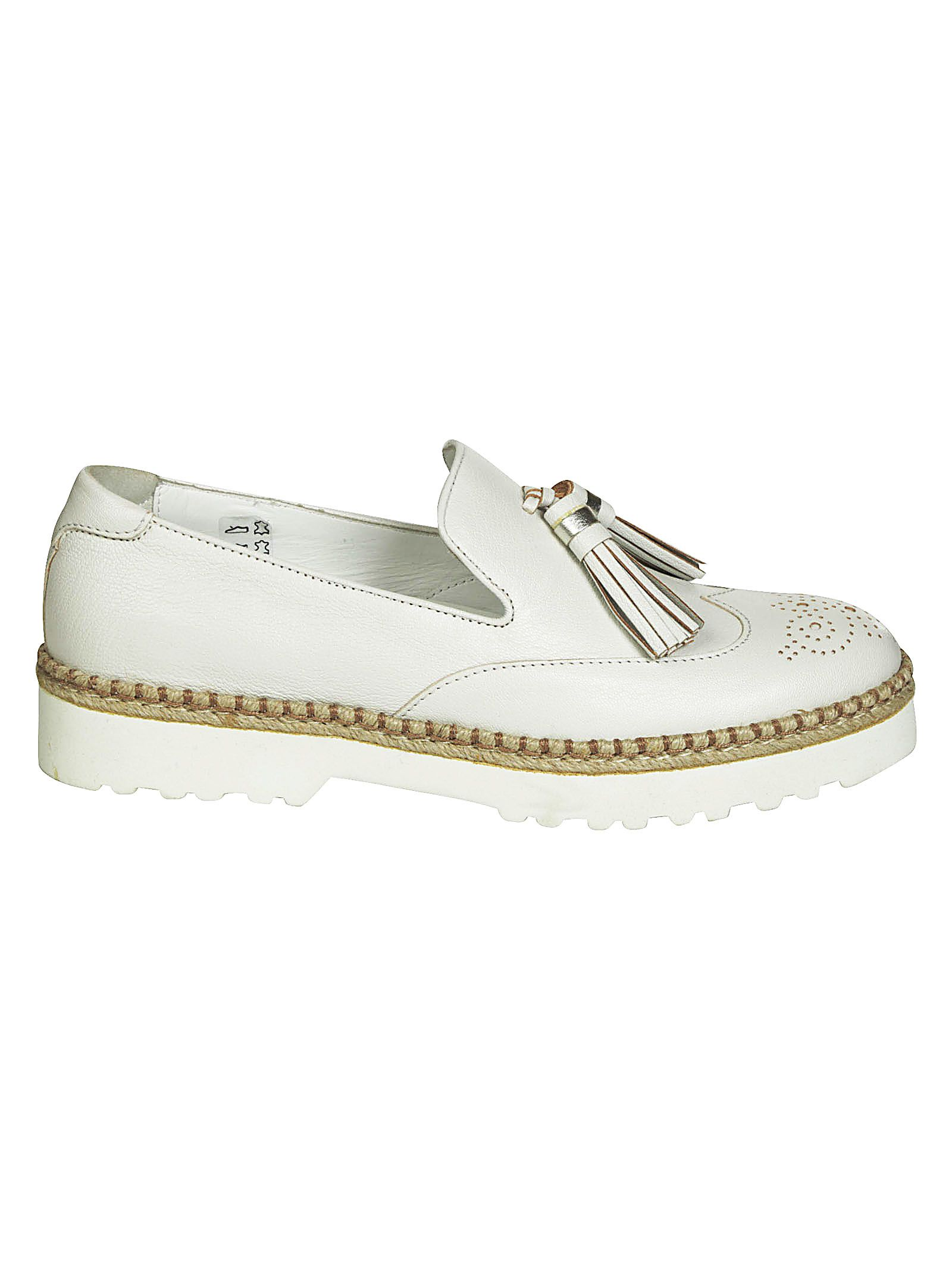 Hogan Slip-on Fringe Tassel Loafers