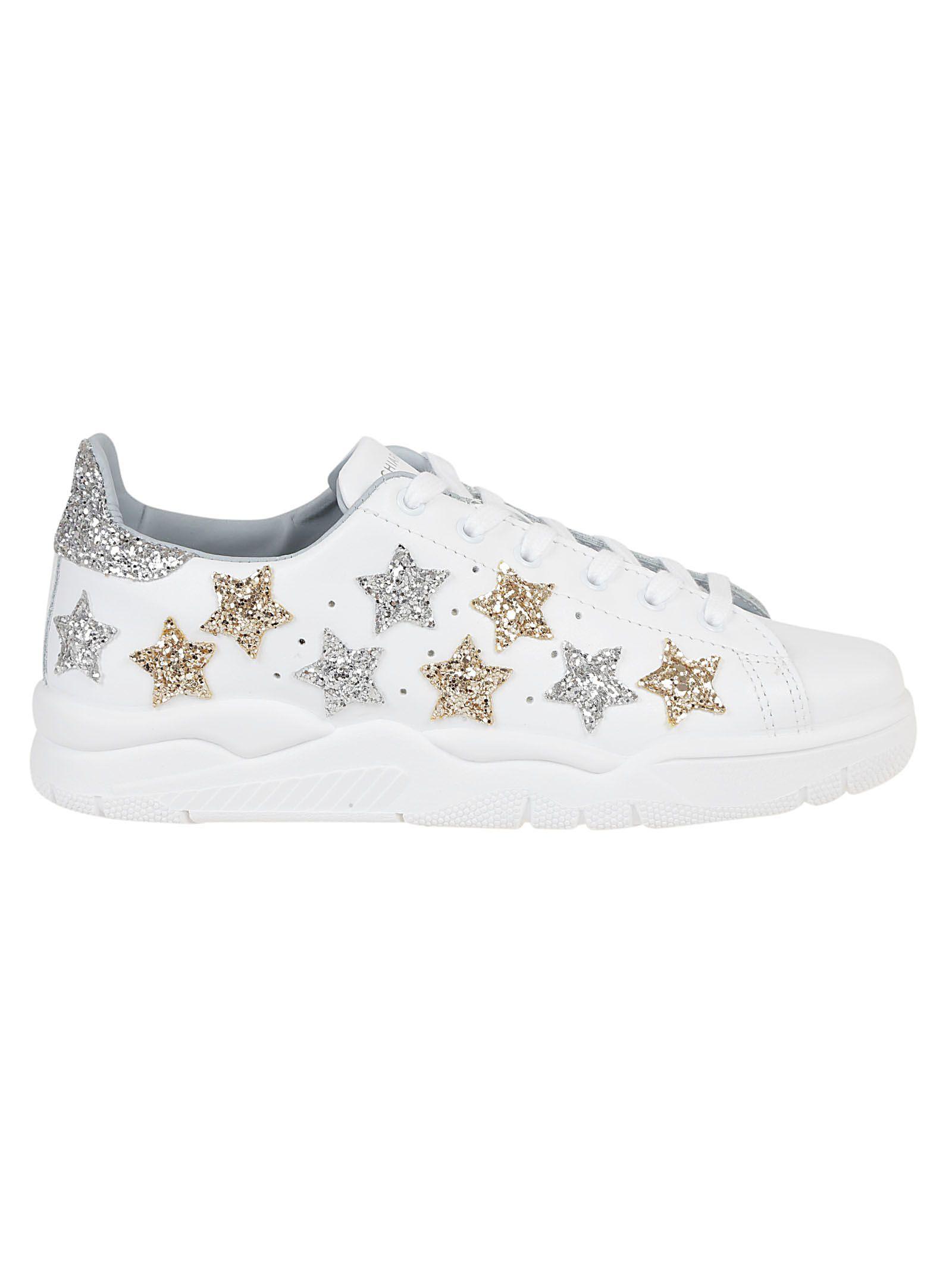 Chiara Ferragni Star Glitter Sneakers