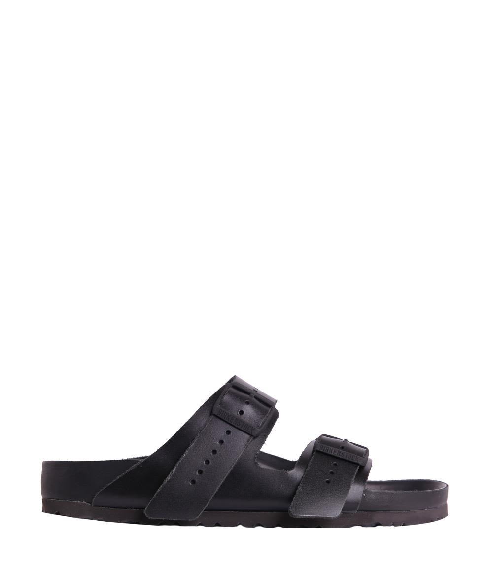Rick Owens Birkenstock Black Leather Arizona Sandals