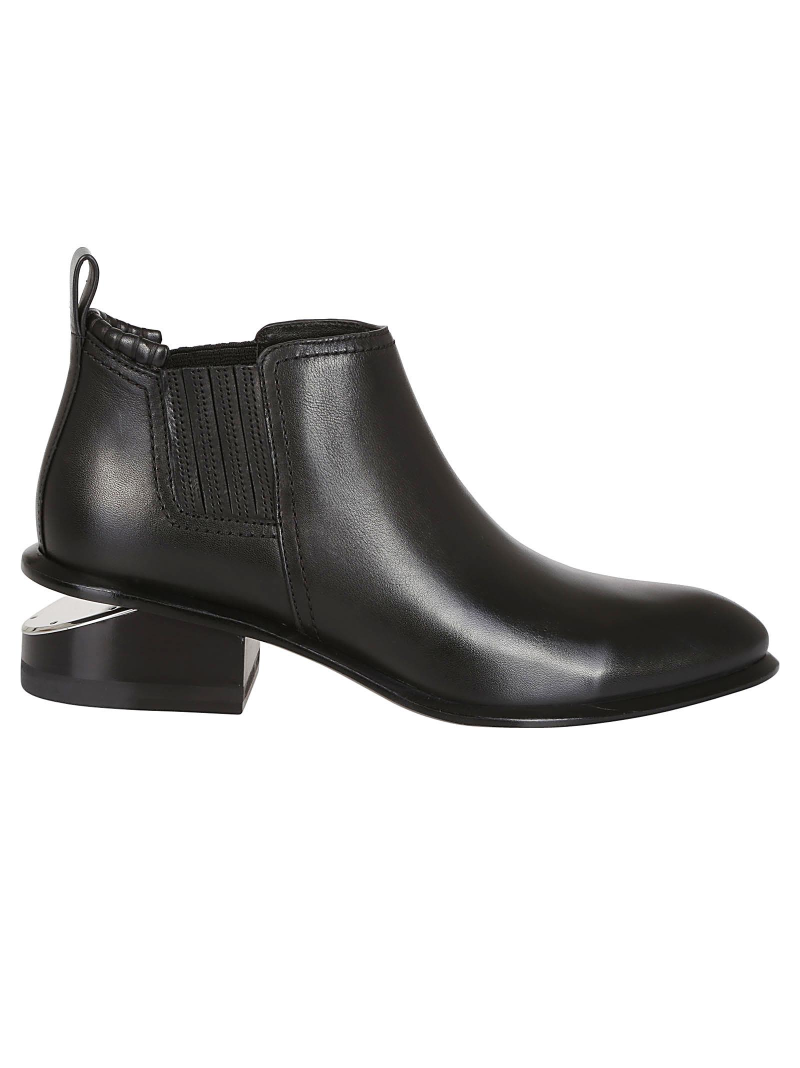 alexander wang -  Cut-out Heel Low Boots