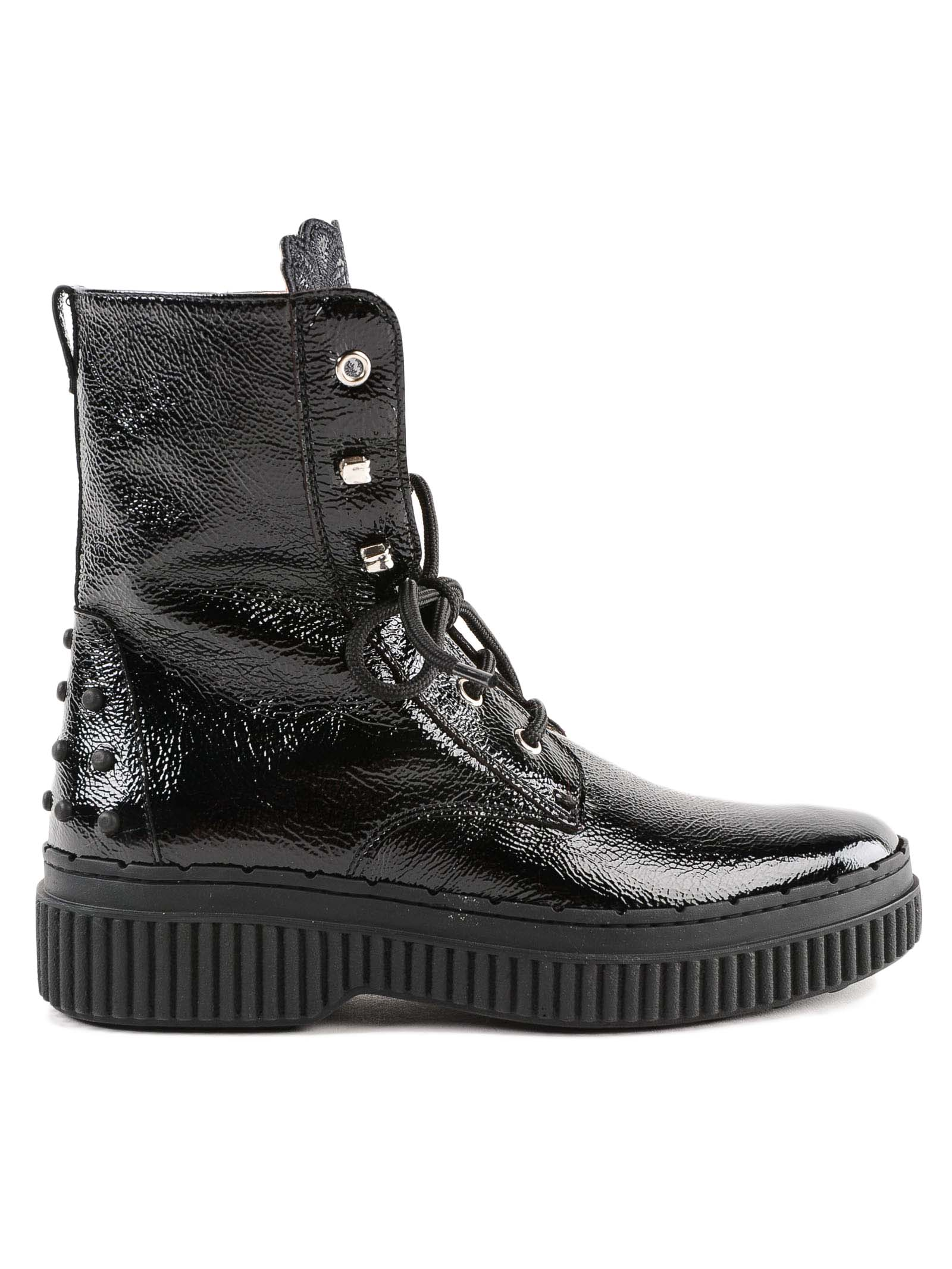 Tod`s Studded Military Boots