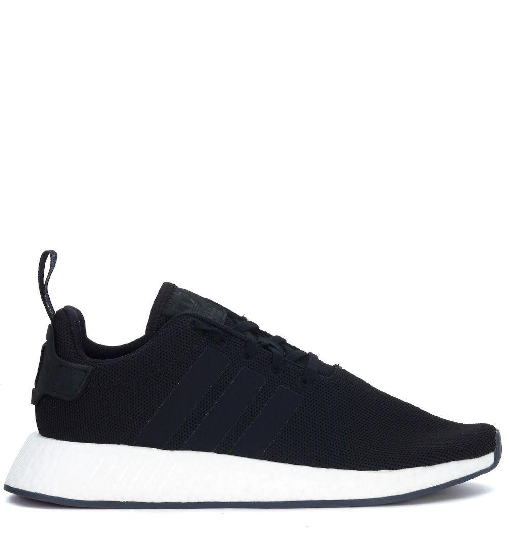 Adidas Originals Nmd r2 Black Knit Sneaker