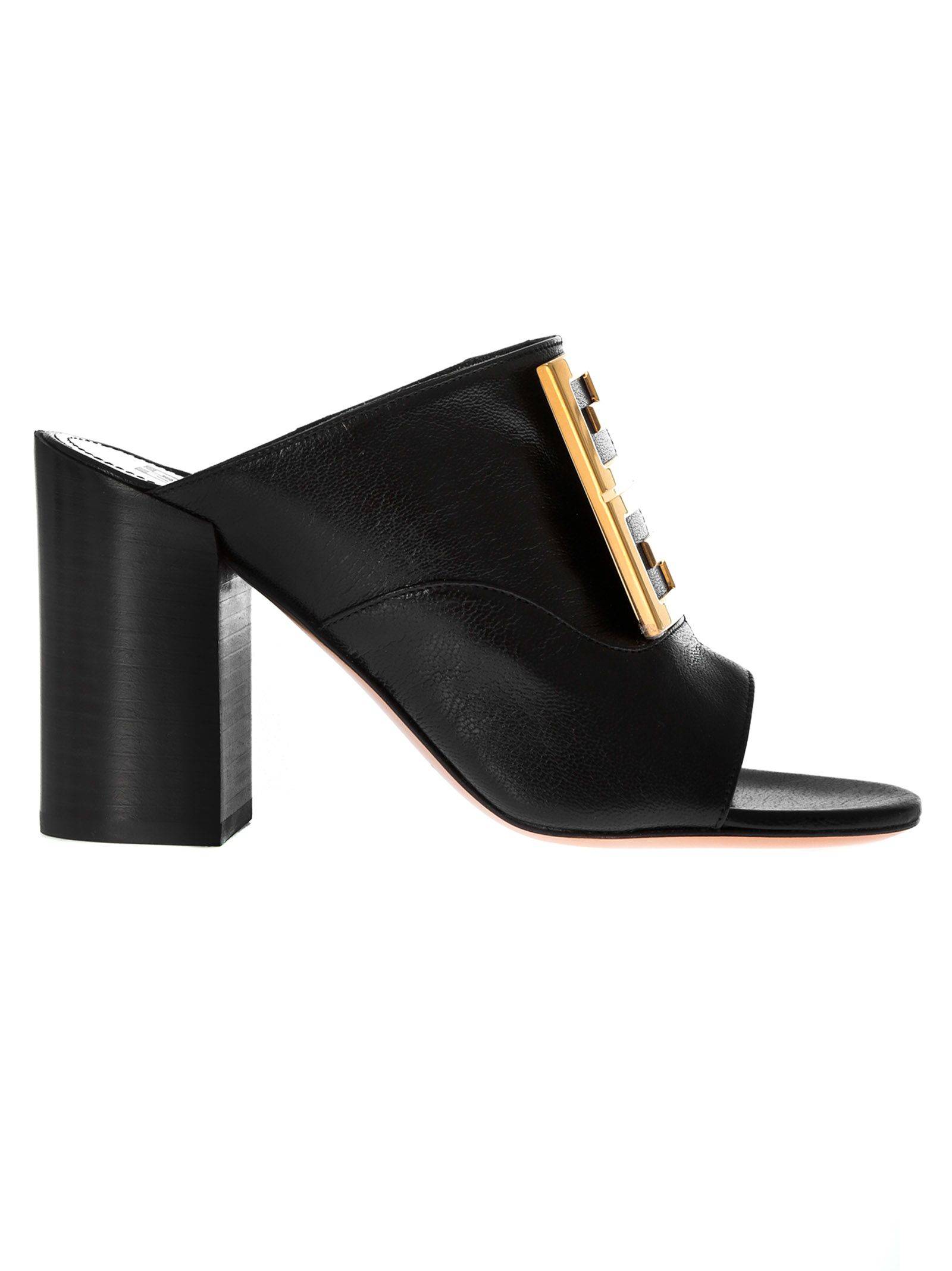 Givenchy 4g Plaque Mules