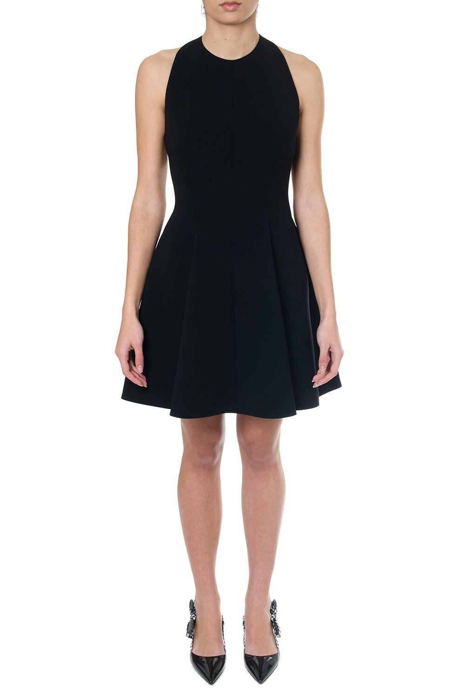 Miu Miu Black Mini Dress Miu Miu