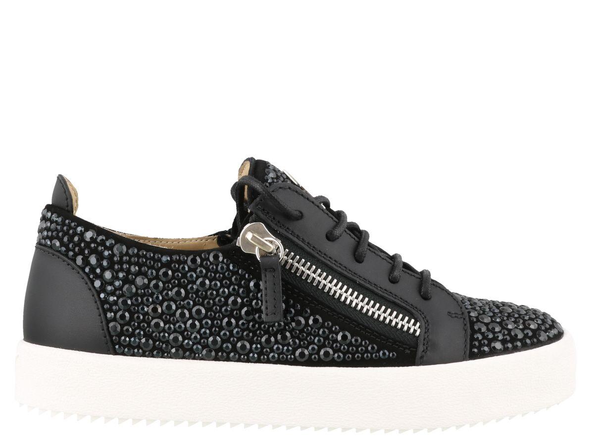 Zanotti Sneakers Modesens Crystal Giuseppe In Gail Black gP644