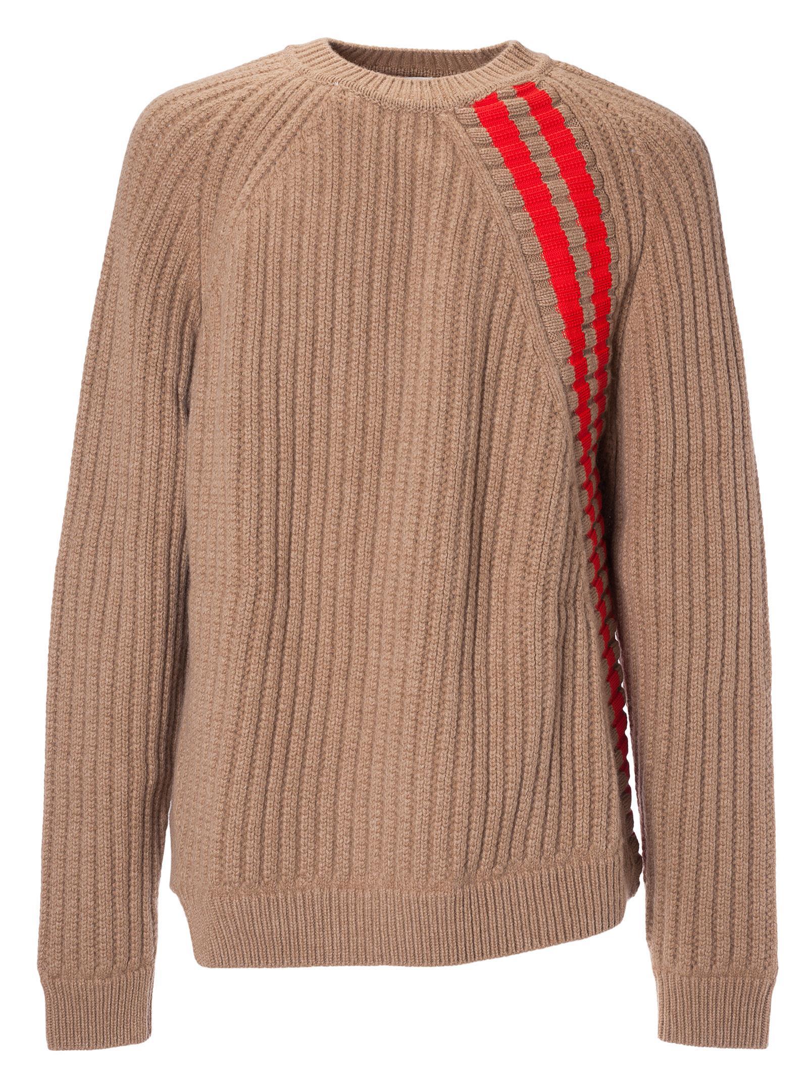 Jil Sander Diagonal Stripe Knit Sweater