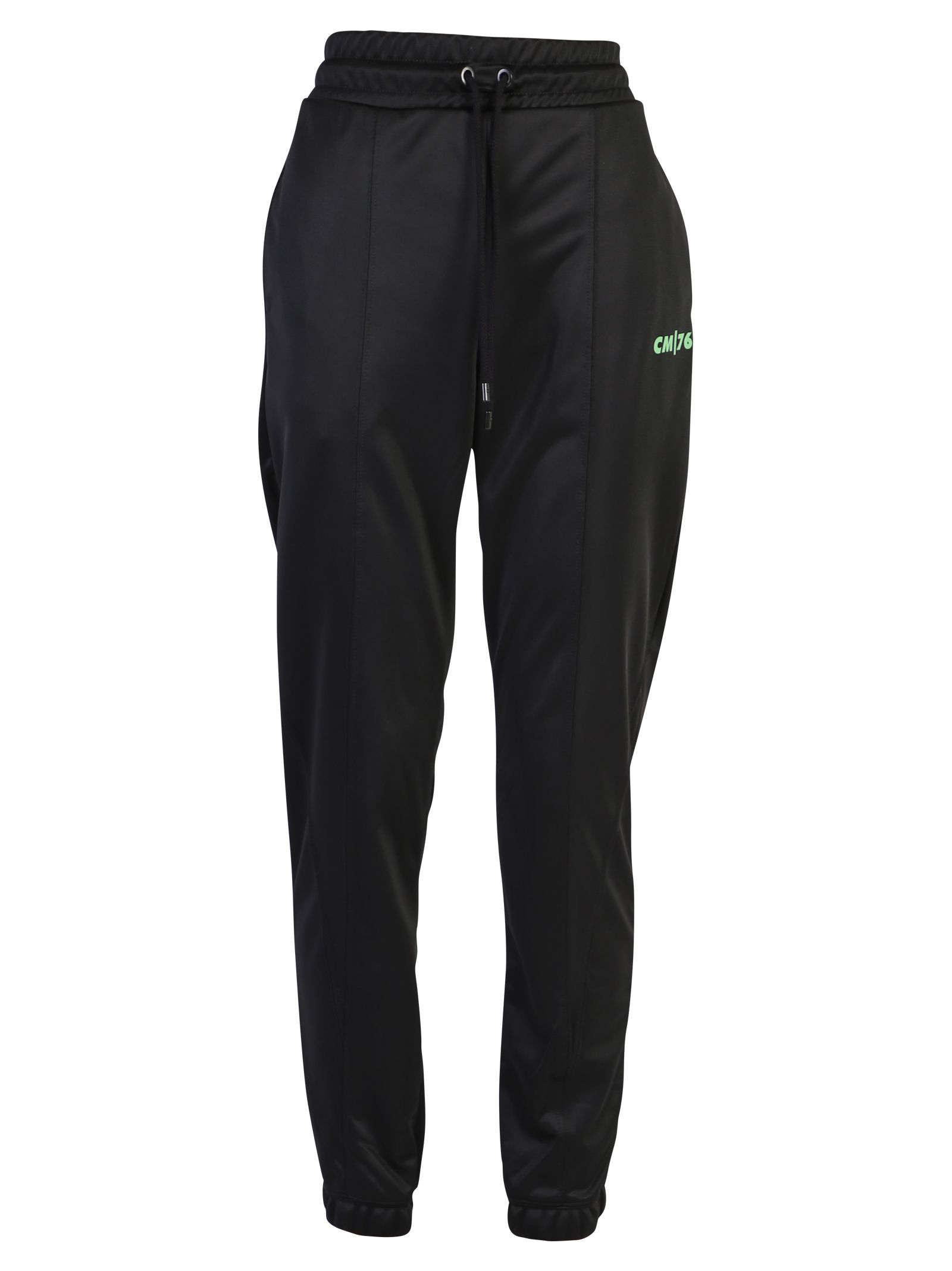 Marcelo Burlon Black Track Pants