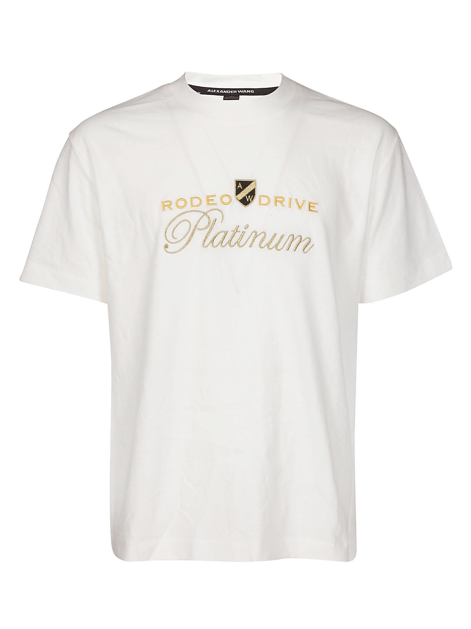 Alexander Wang Rodeo Drive Embroidered T-shirt