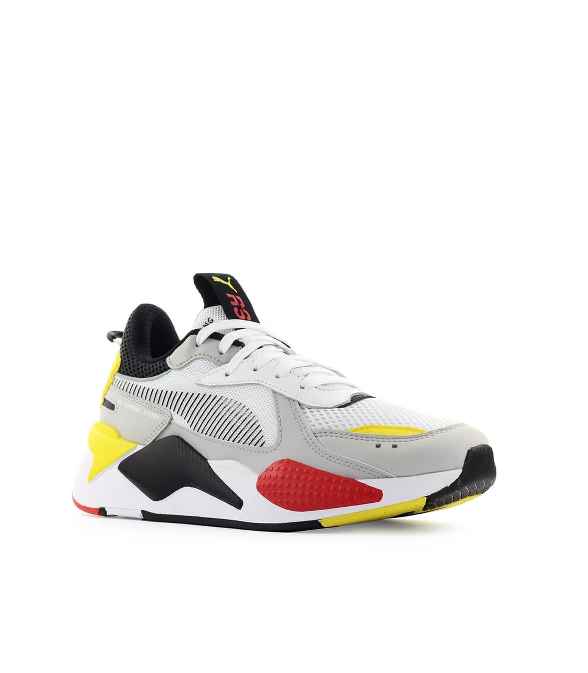 Best price on the market at italist | Puma Puma Rs-x Toys Black Yellow Red  Sneaker