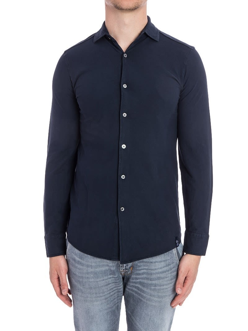 Drumohr Shirt Polo Cotton Tj609 790