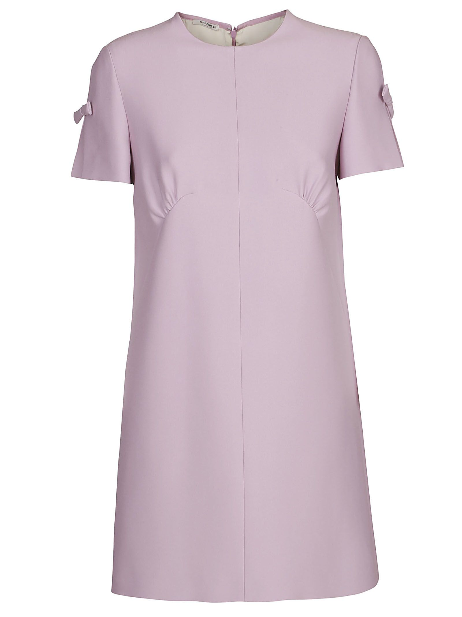 Miu Miu Side Sleeve Applique Dress