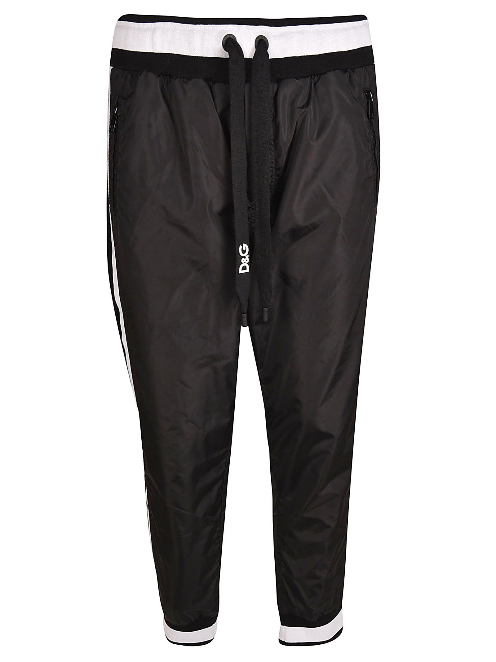 Dolce & Gabbana Striped Trim Track Pants