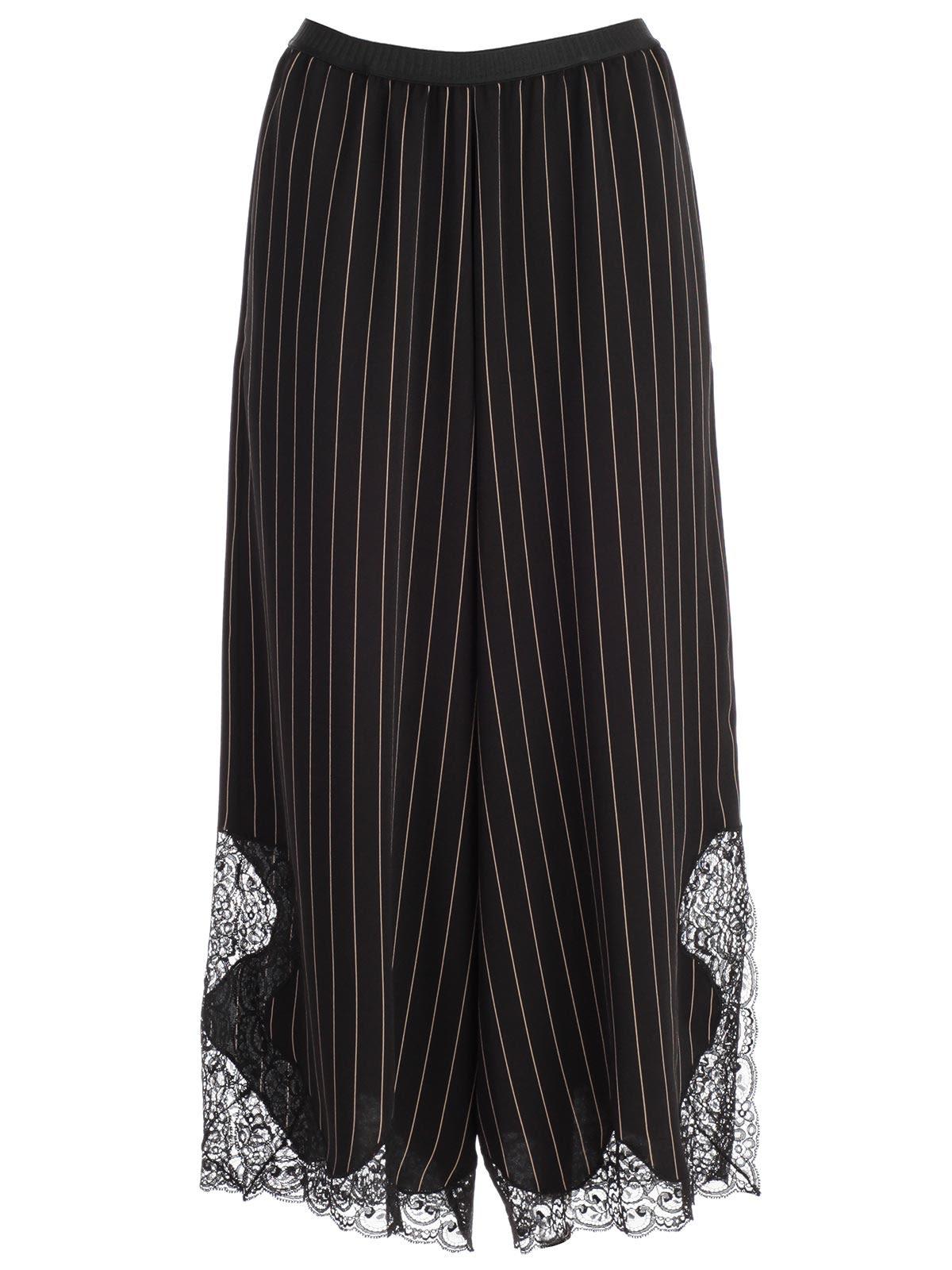 antonio marras -  Pinstripe Full Trousers