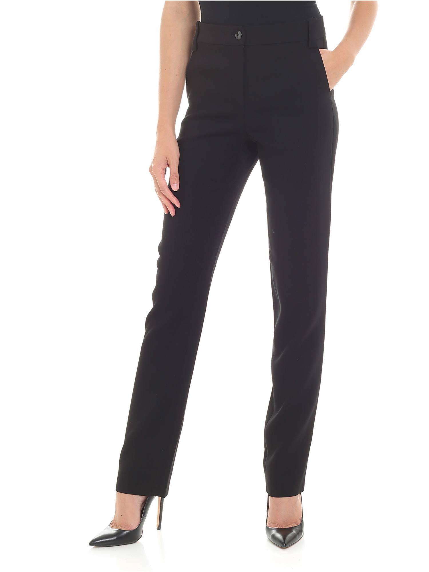Emporio Armani Stretch Viscose Trousers