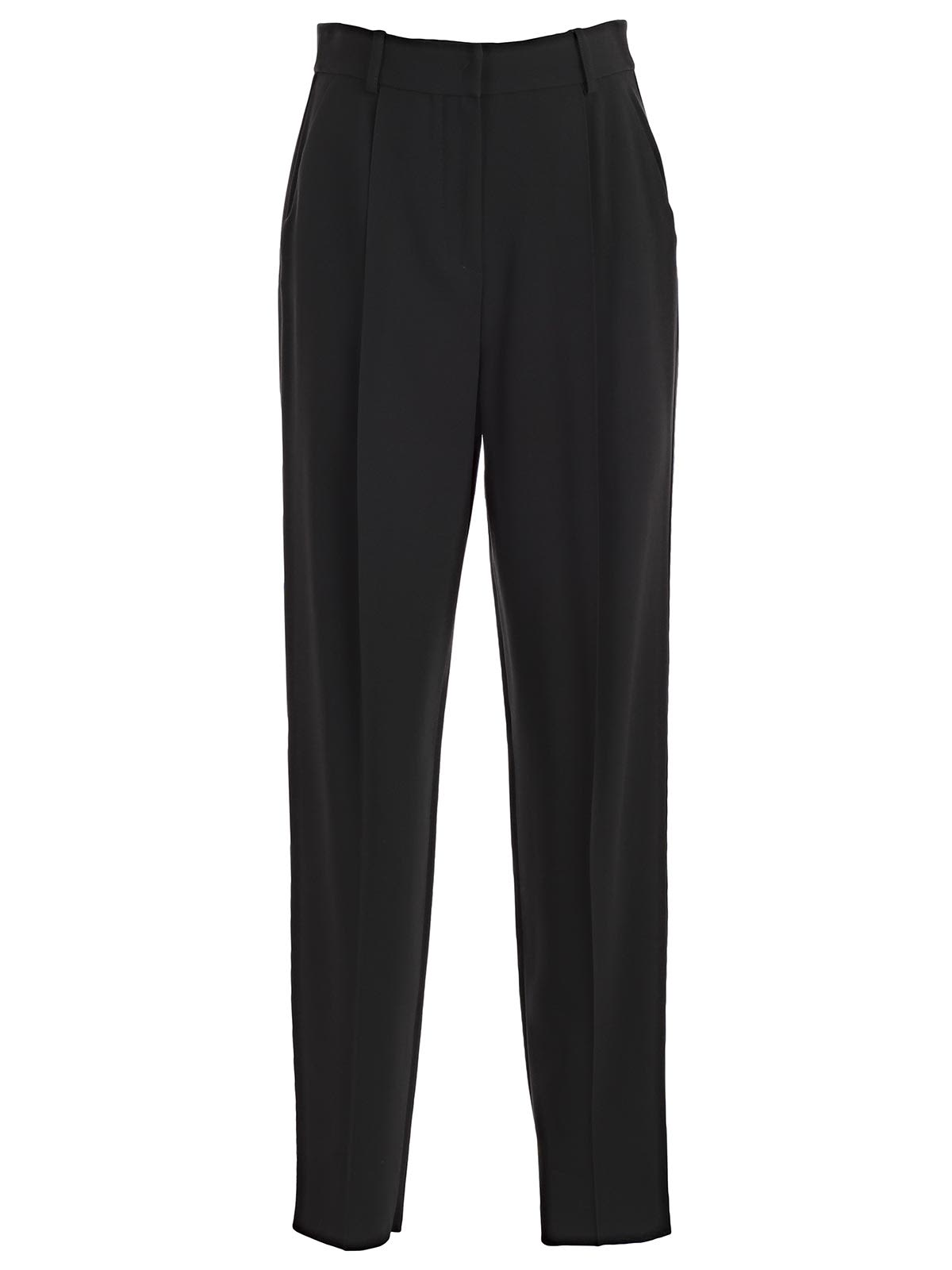 Emporio Armani High-waisted Tailored Trousers