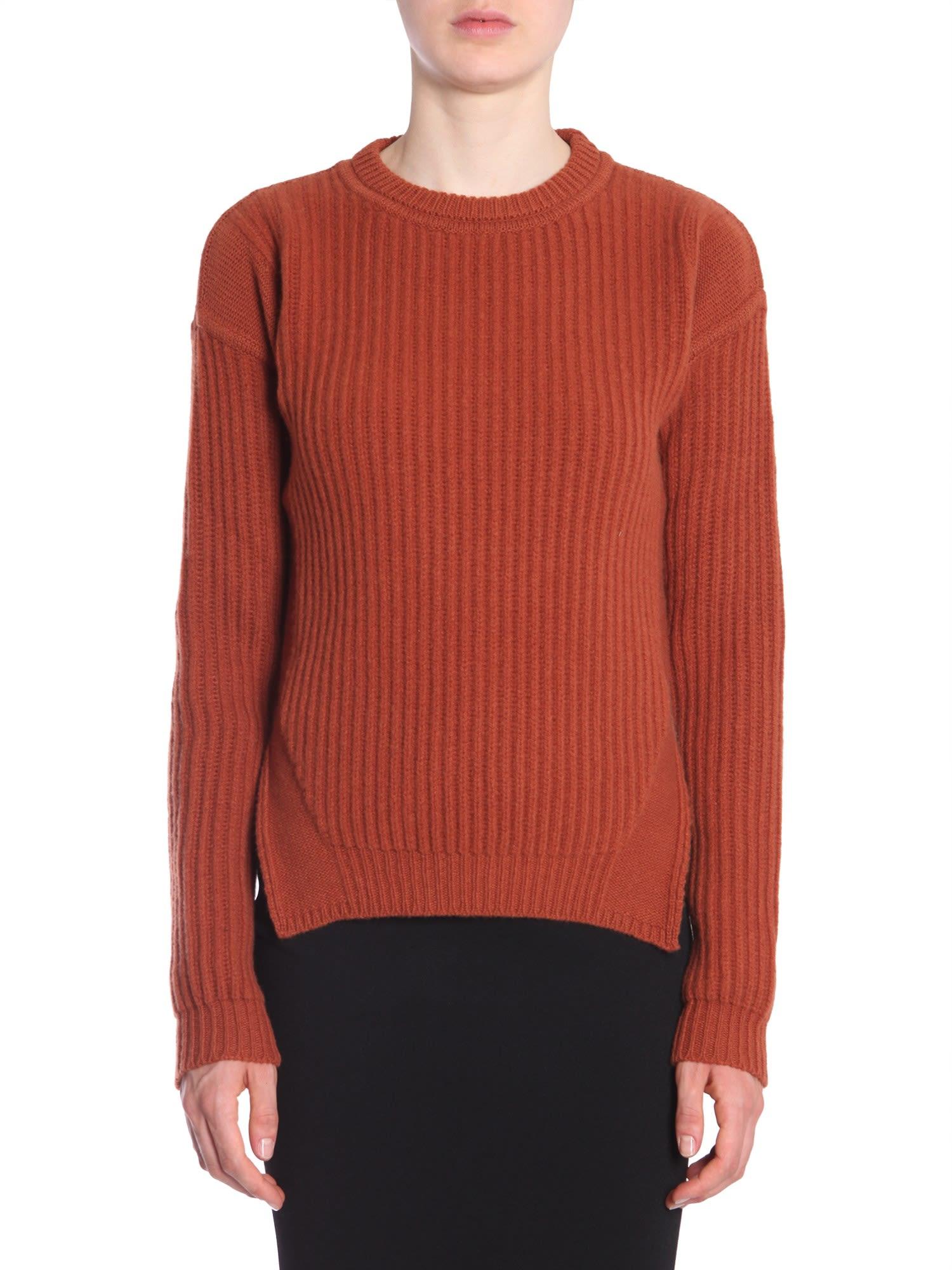 Rick Owens Round Collar Sweater