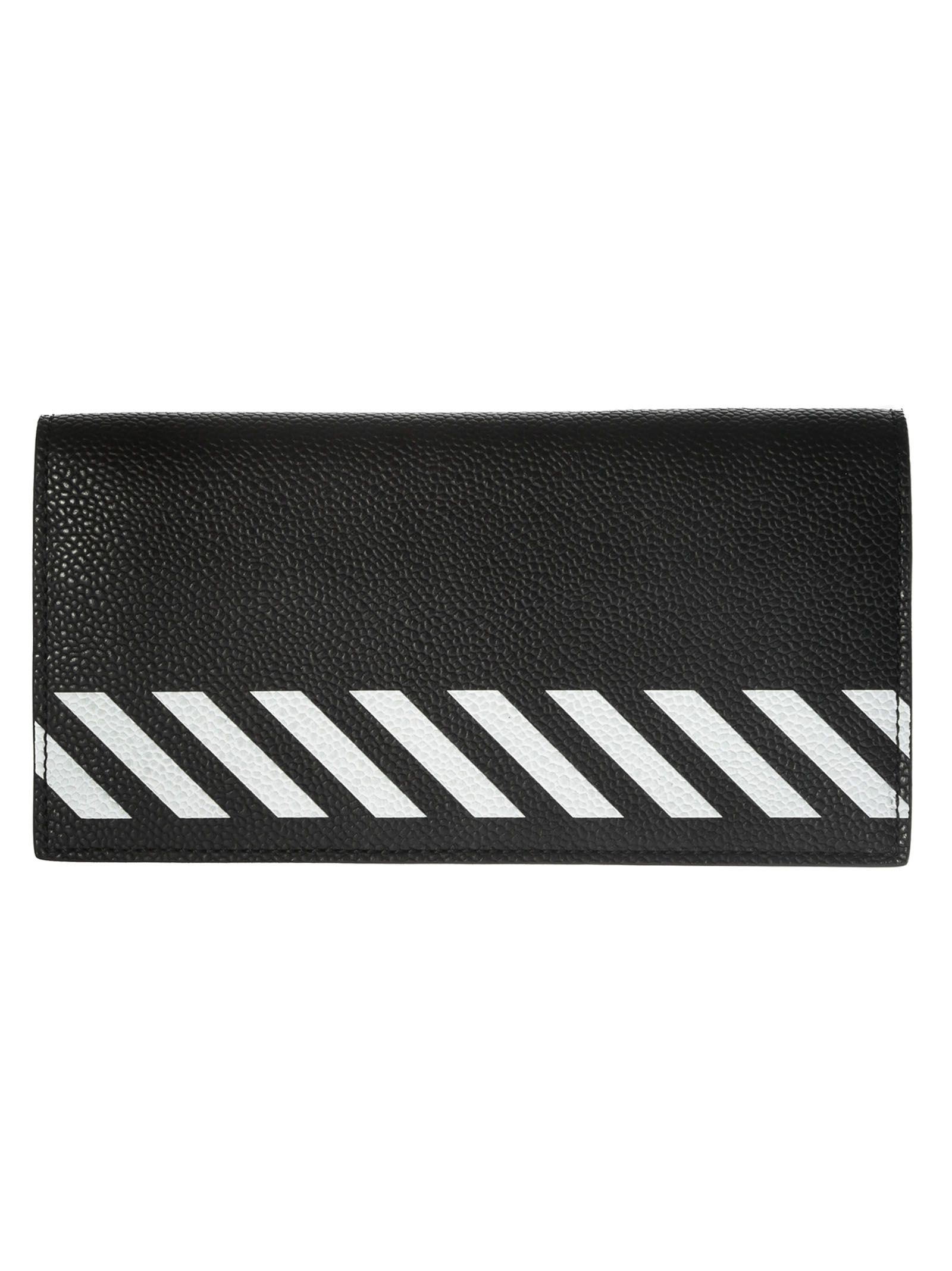 Off-white Striped Wallet