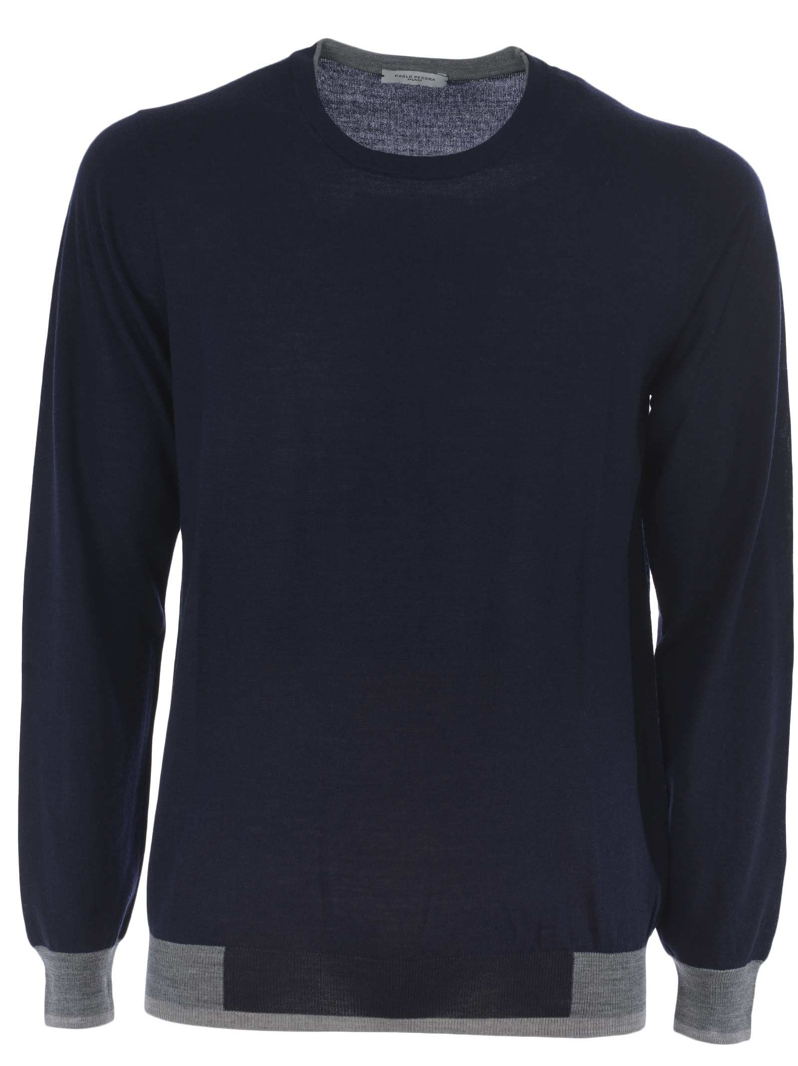 Paolo Pecora Contrast Trim Sweater