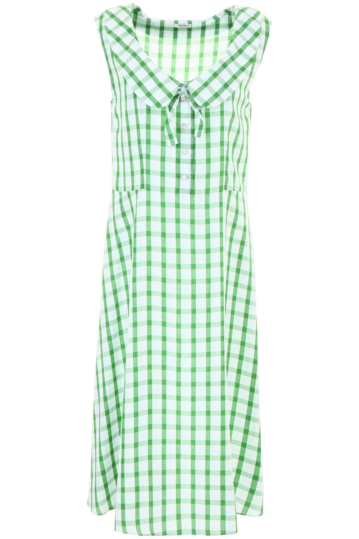 Miu Miu Check Dress