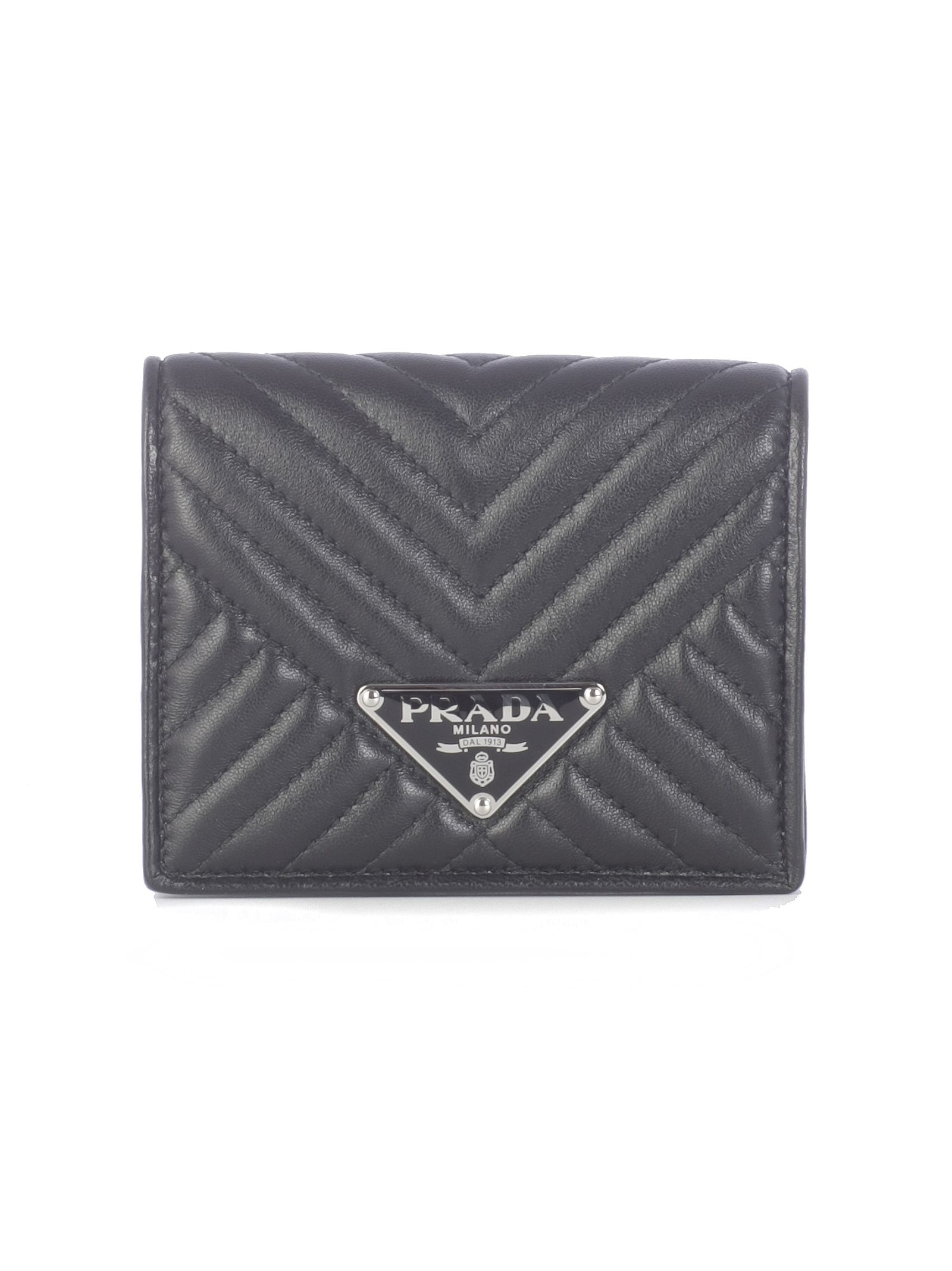 f28b3ab6c Prada Diagramme French Wallet In Black | ModeSens