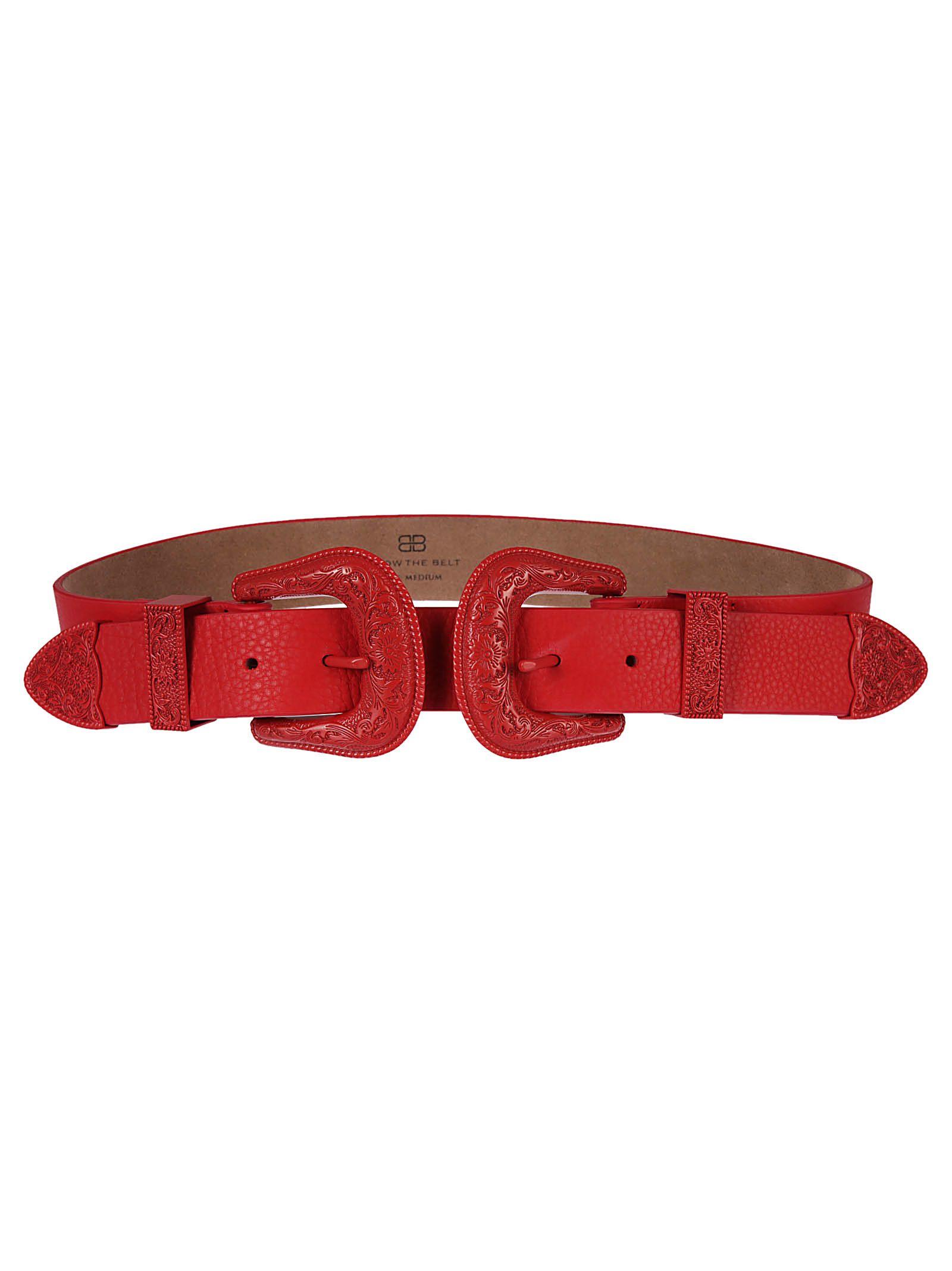 B-low The Belt B Low The Belt Double Buckle Belt