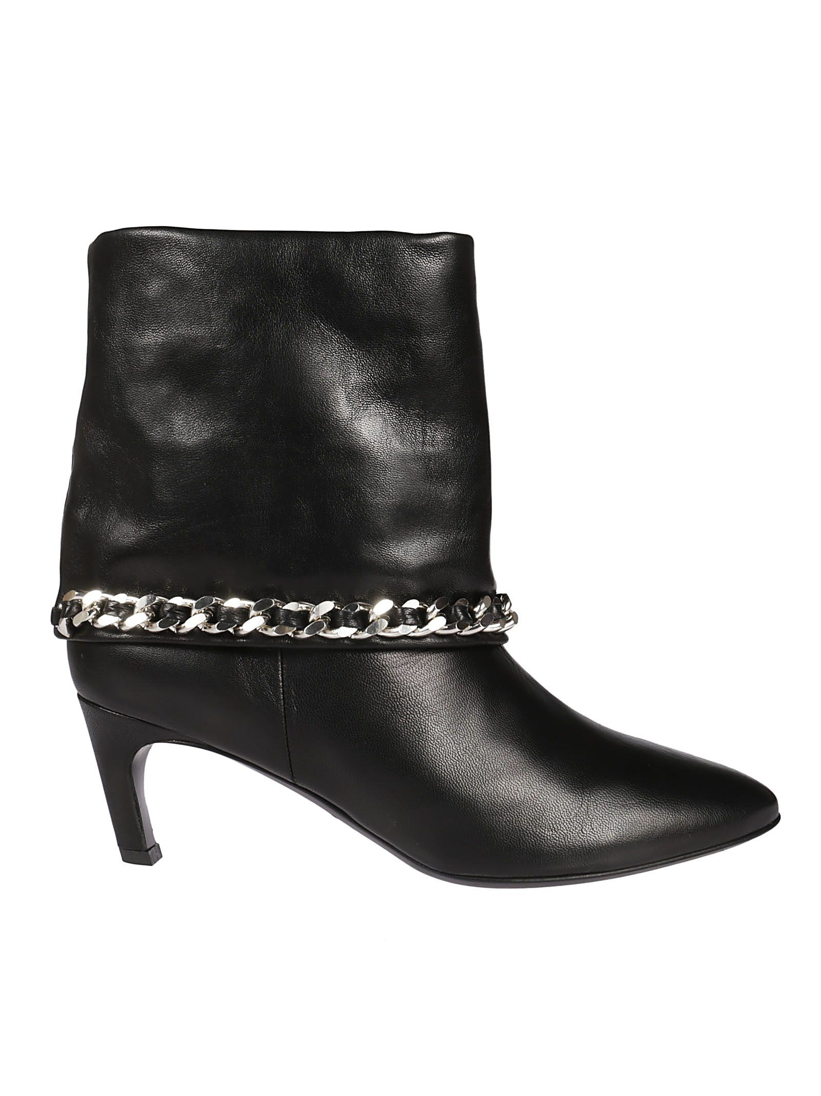 Marc Ellis Chain-wrapped Ankle Boots