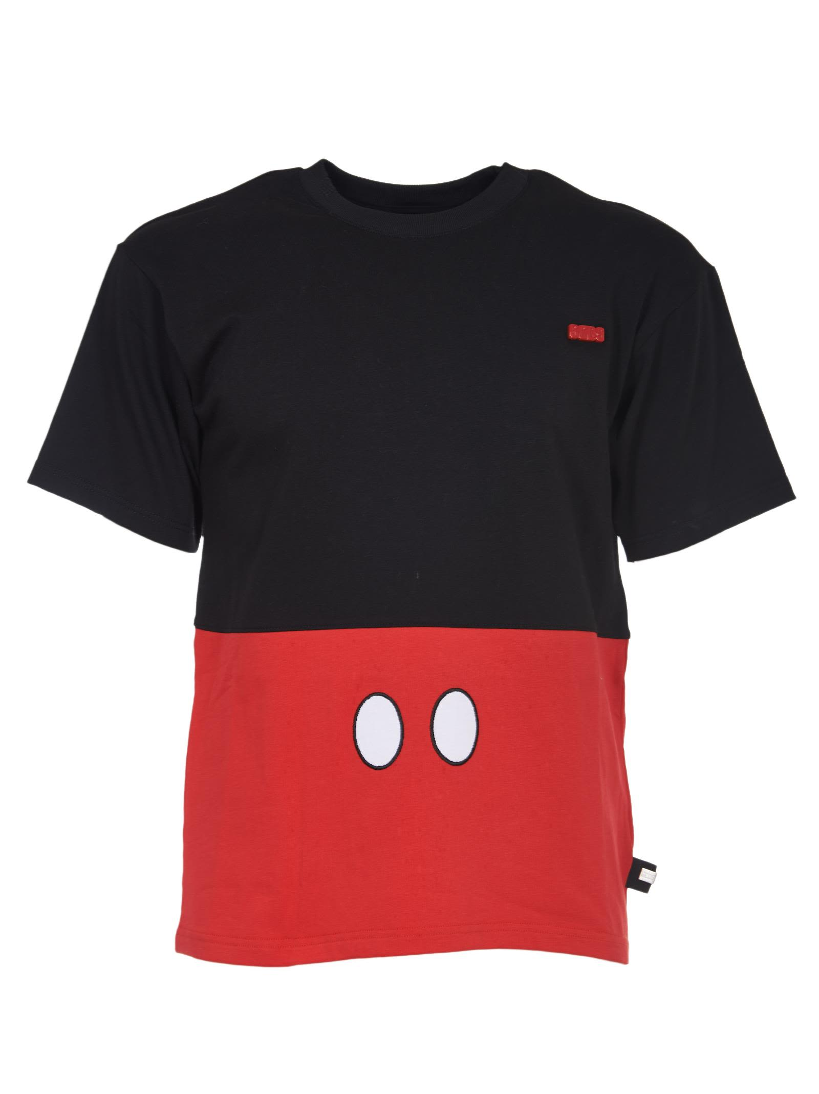 Gcds Mickey Mouse Detail T-shirt
