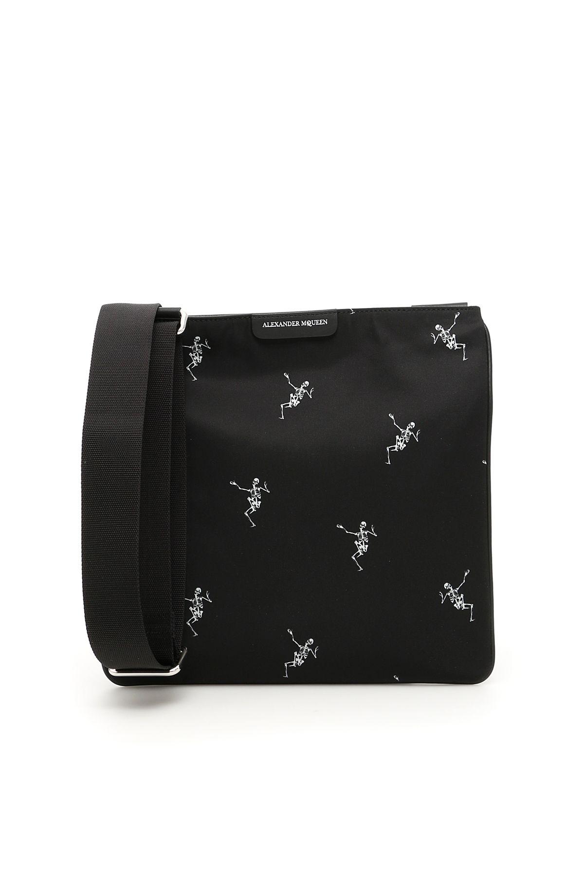 Alexander McQueen Dancing Skeleton Crossbody Bag