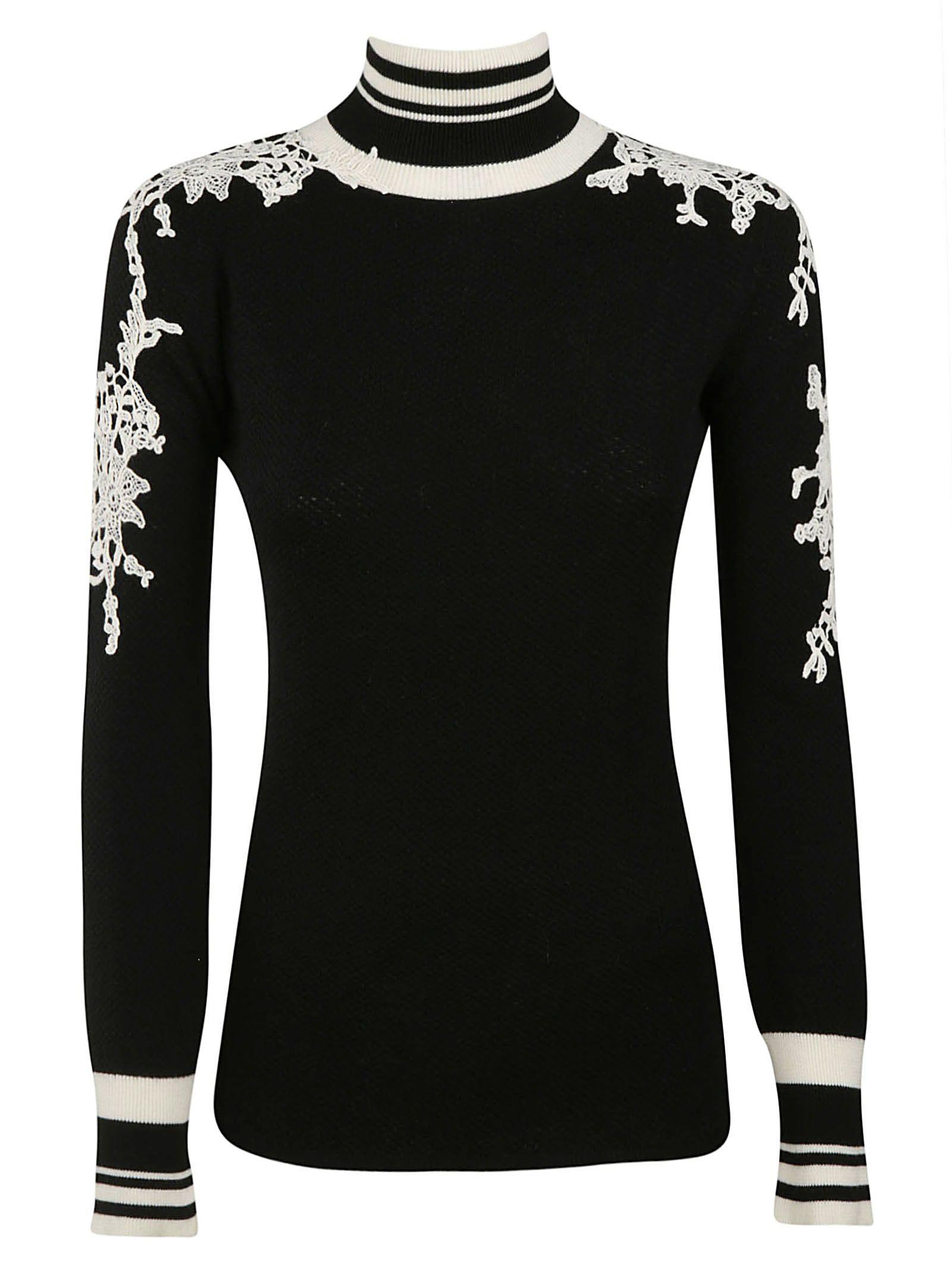 Ermanno Scervino Embroidered Sweater