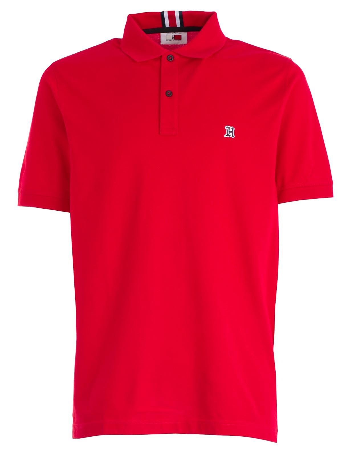 Tommy Hilfiger Chest Logo Polo Shirt