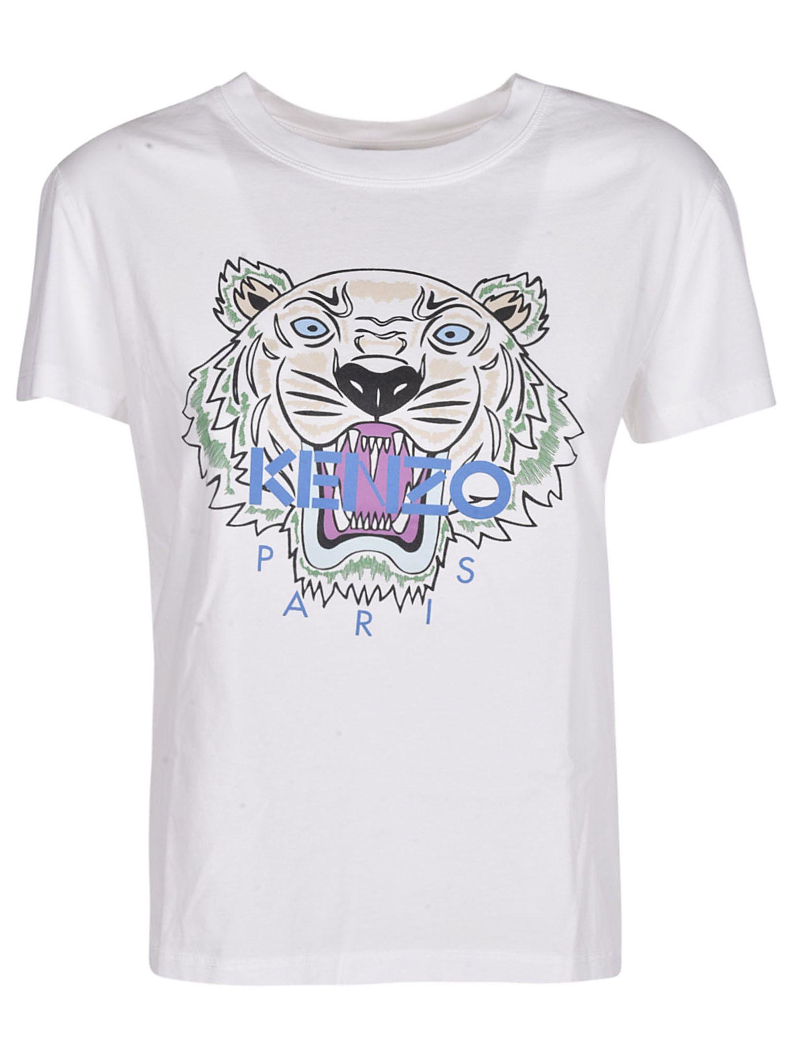 ... Shop Kenzo Tiger T Shirt In White KENZO TIGER T SHIRT Source · T Shirt  Kenzo pour Homme Shopsquare b88a7d70118