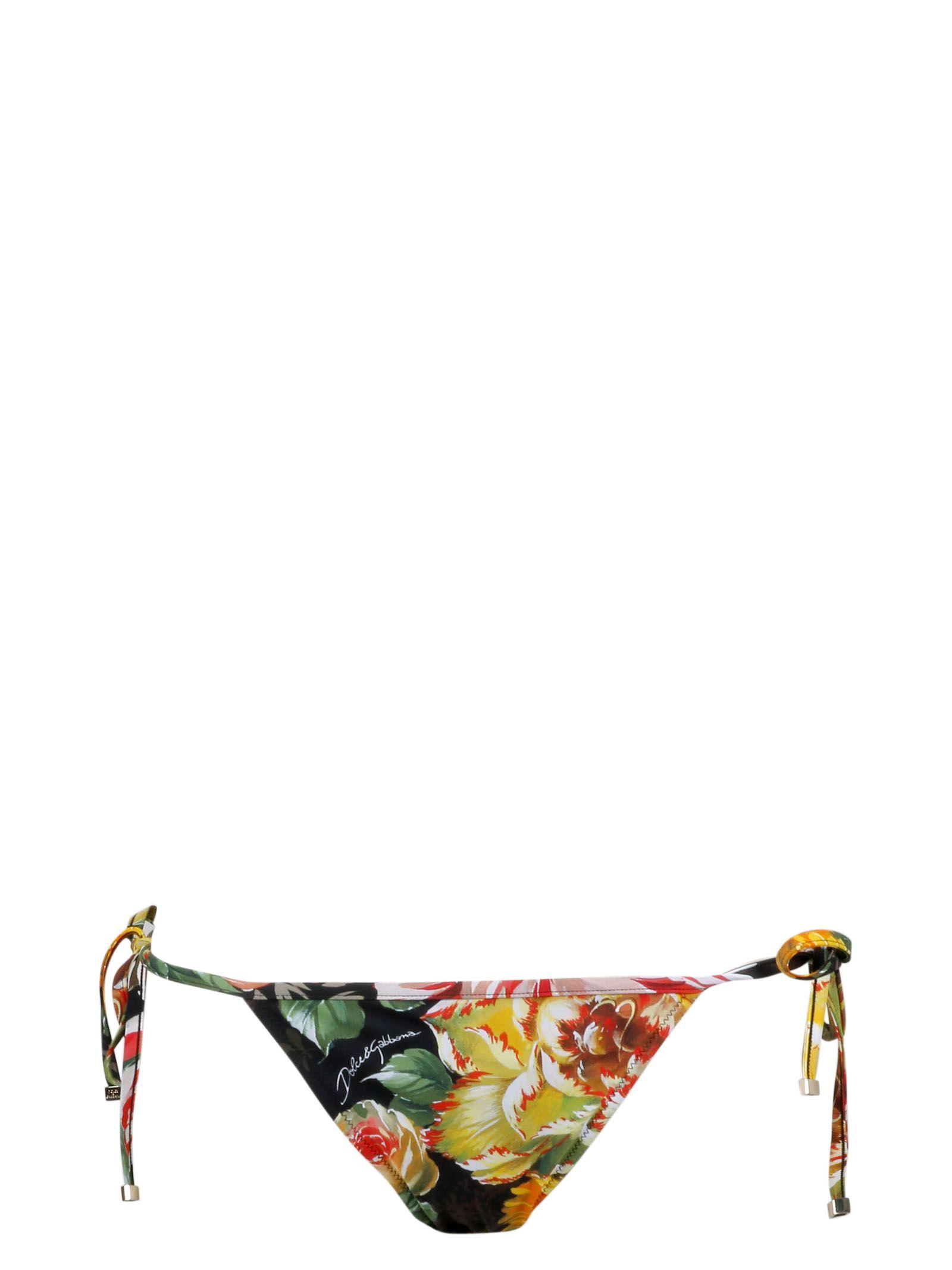 Dolce & Gabbana Floral Bottom Bikini