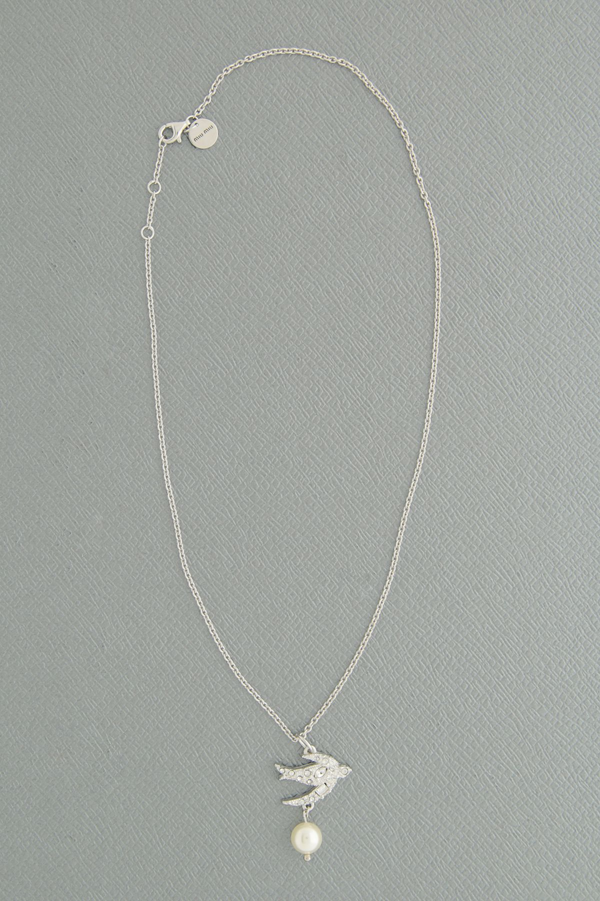 Miu Miu Silver Necklace