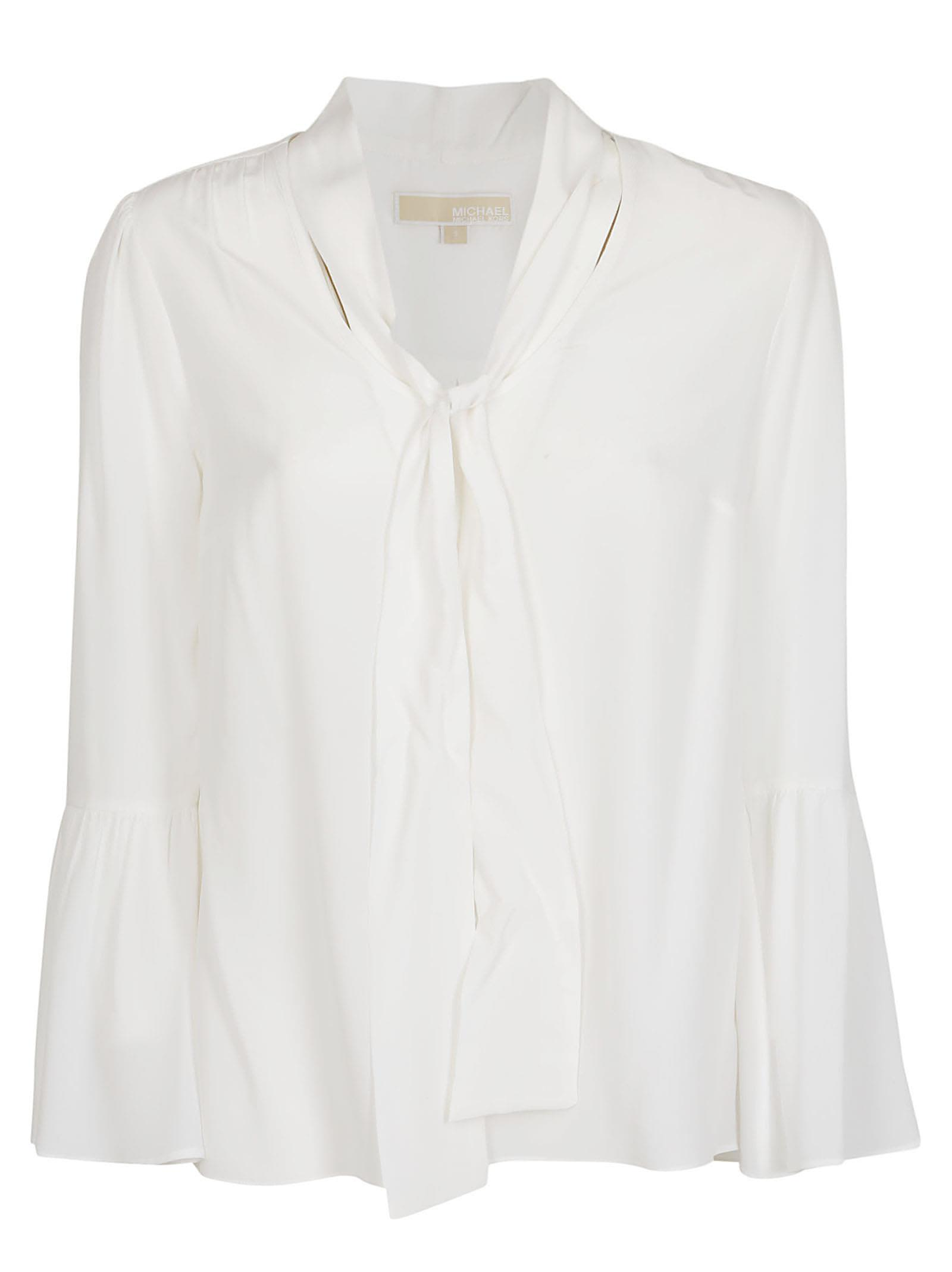 Michael Kors Tied Detail Flared Cuff Blouse