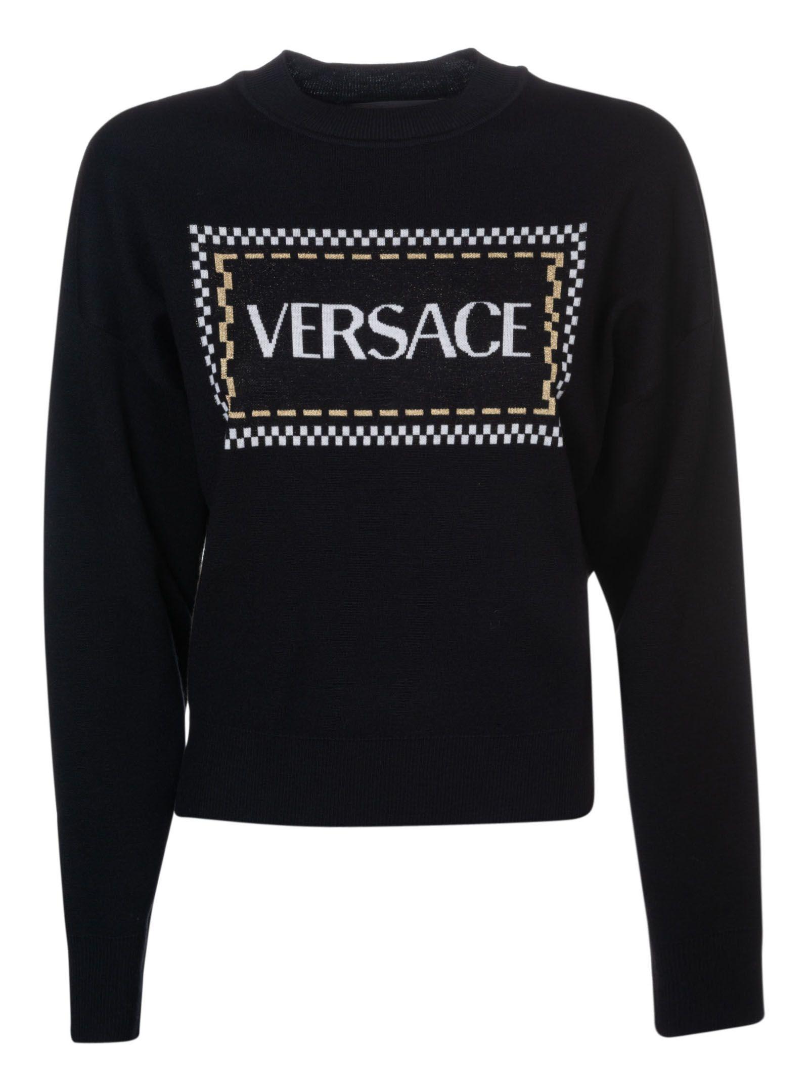 Versace Logo Sweater