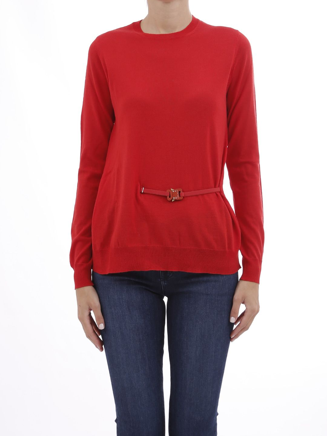 Alyx Red Sweater With Buckle
